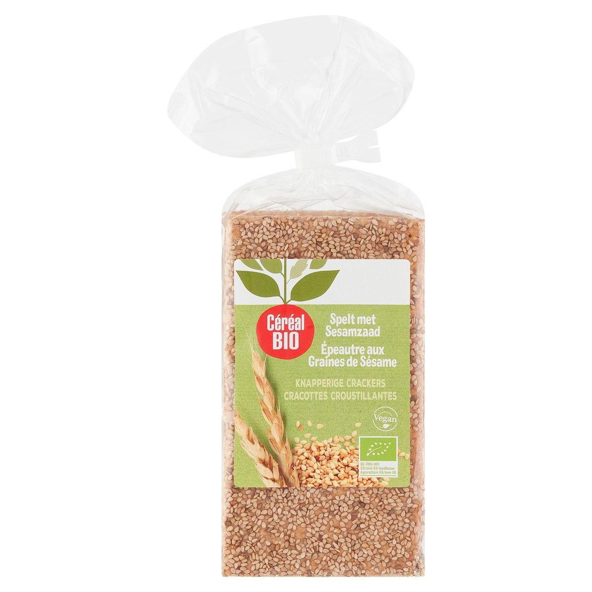 Céréal By Nature Bio Vegan Épeautre au Sésame 200 g