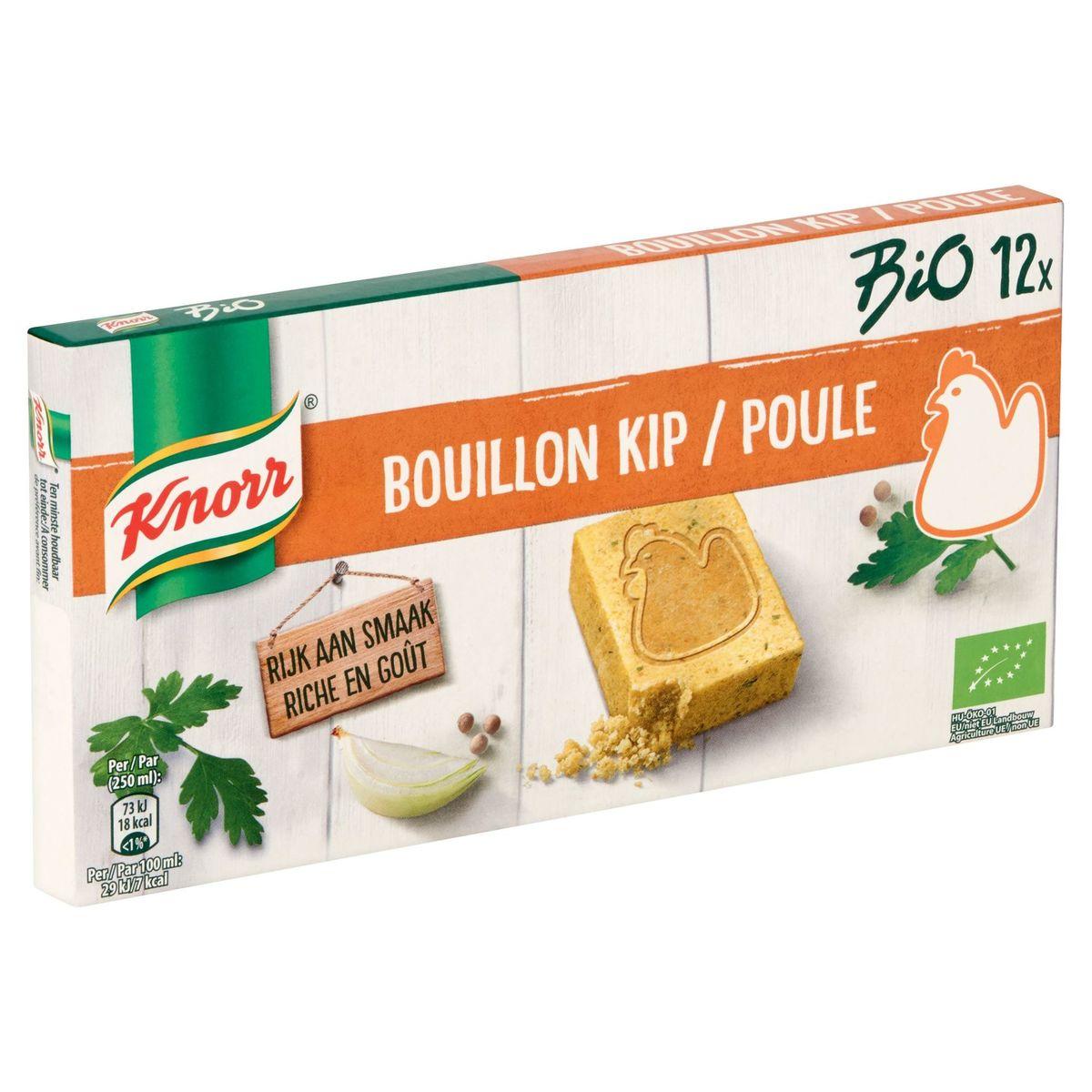 Knorr Bio Bouillon Poule 12 Pièces 120 g