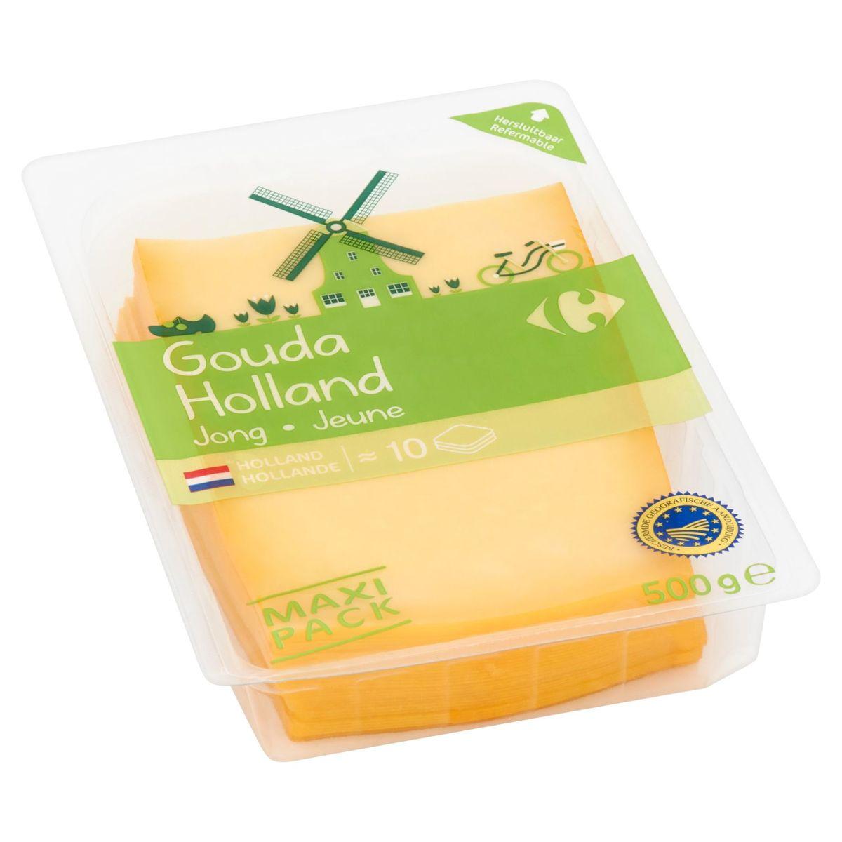Carrefour Gouda Holland Jeune Maxi Pack 500 g