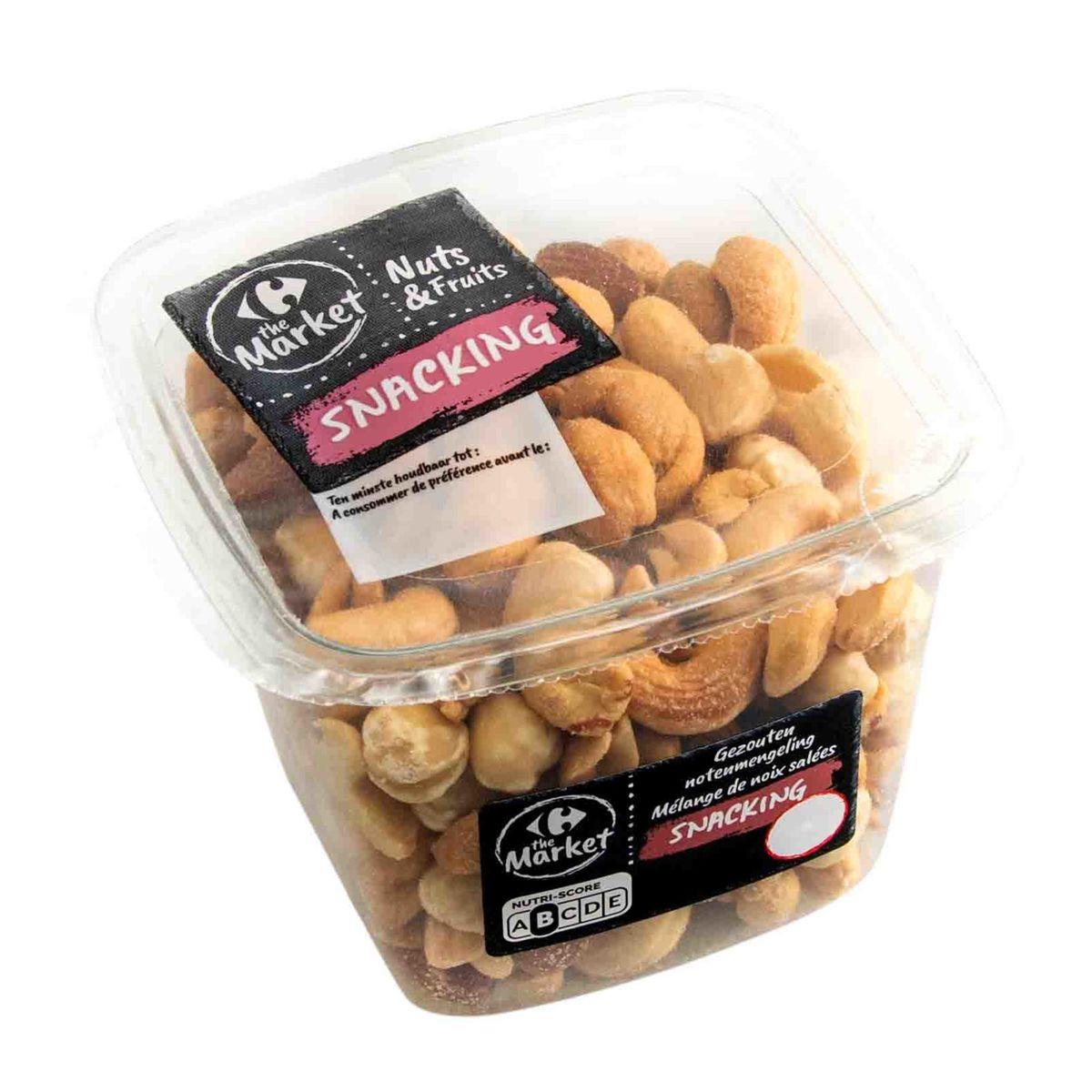 Carrefour Nuts & Fruits Snacking Mélange de Noix Salées 225 g