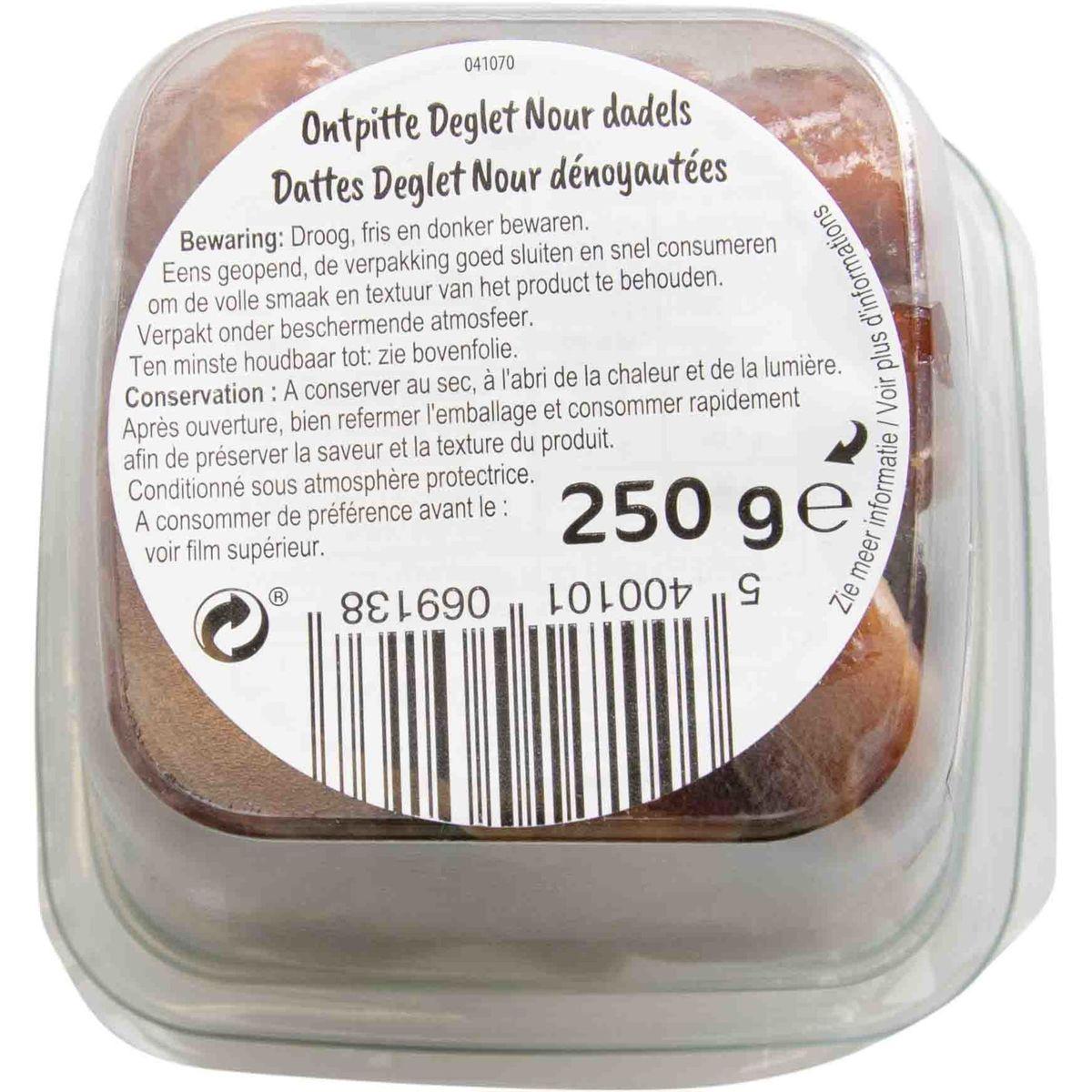Carrefour Séché Nuts & Fruits Dattes Deglet Nour Dénoyautées 250 g
