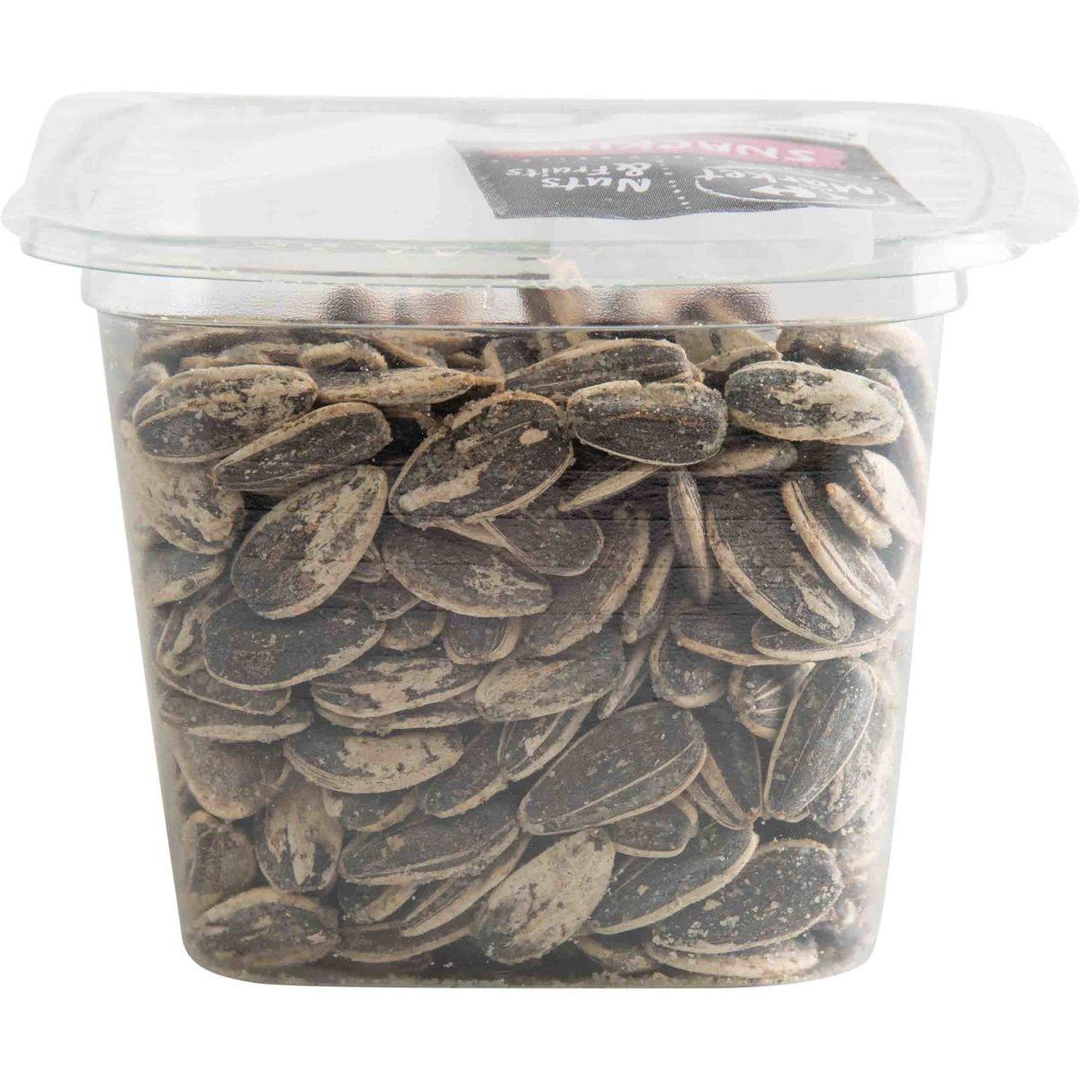 Carrefour Nuts & Fruits Graines de Tournesol Grillées & Salées 115 g