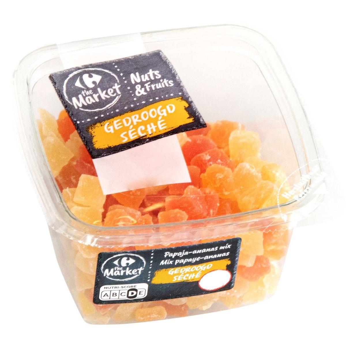 Carrefour Nuts & Fruits Séché Mix Papaye & Ananas 220 g