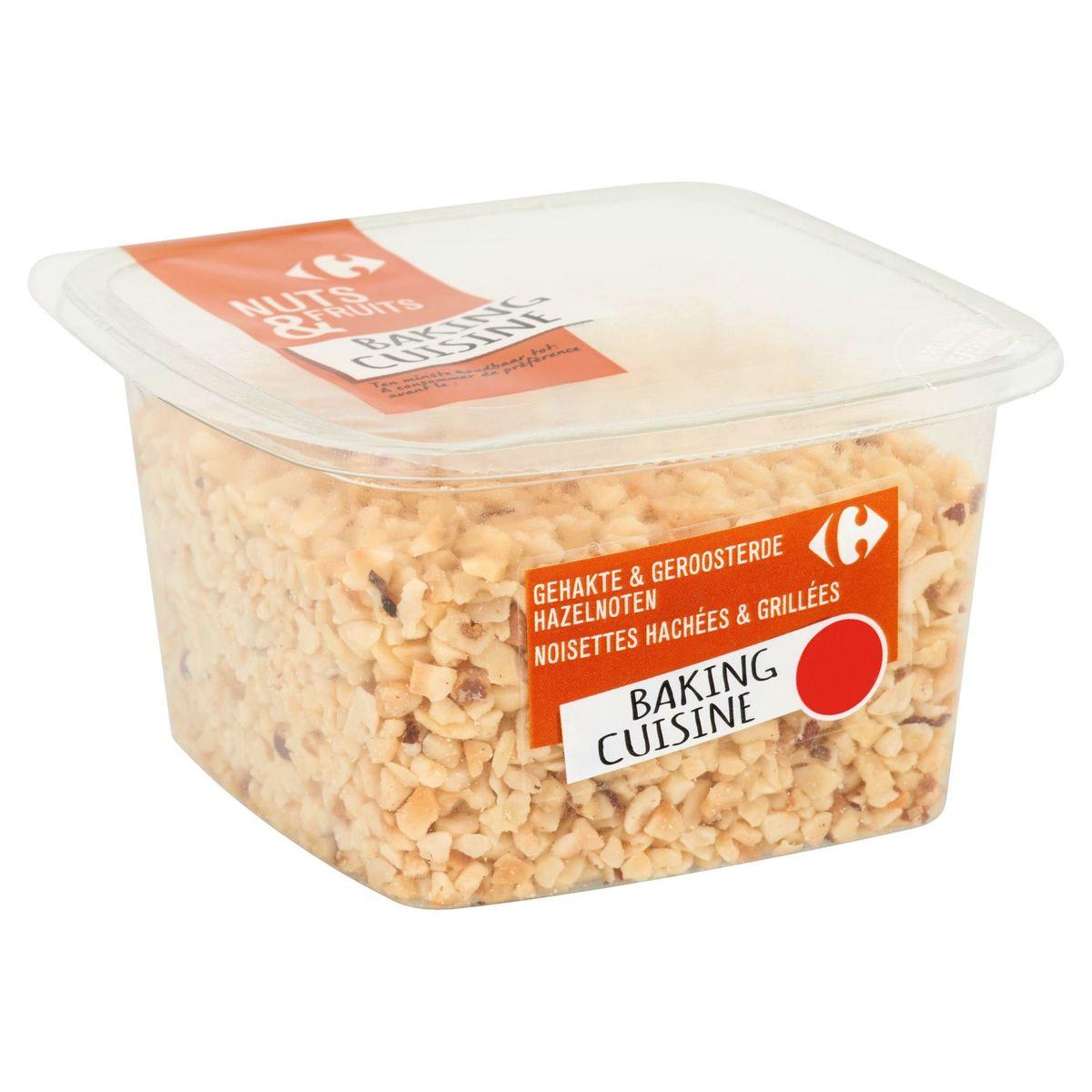 Carrefour Nuts & Fruits Noisettes Hachées & Grillées 150 g