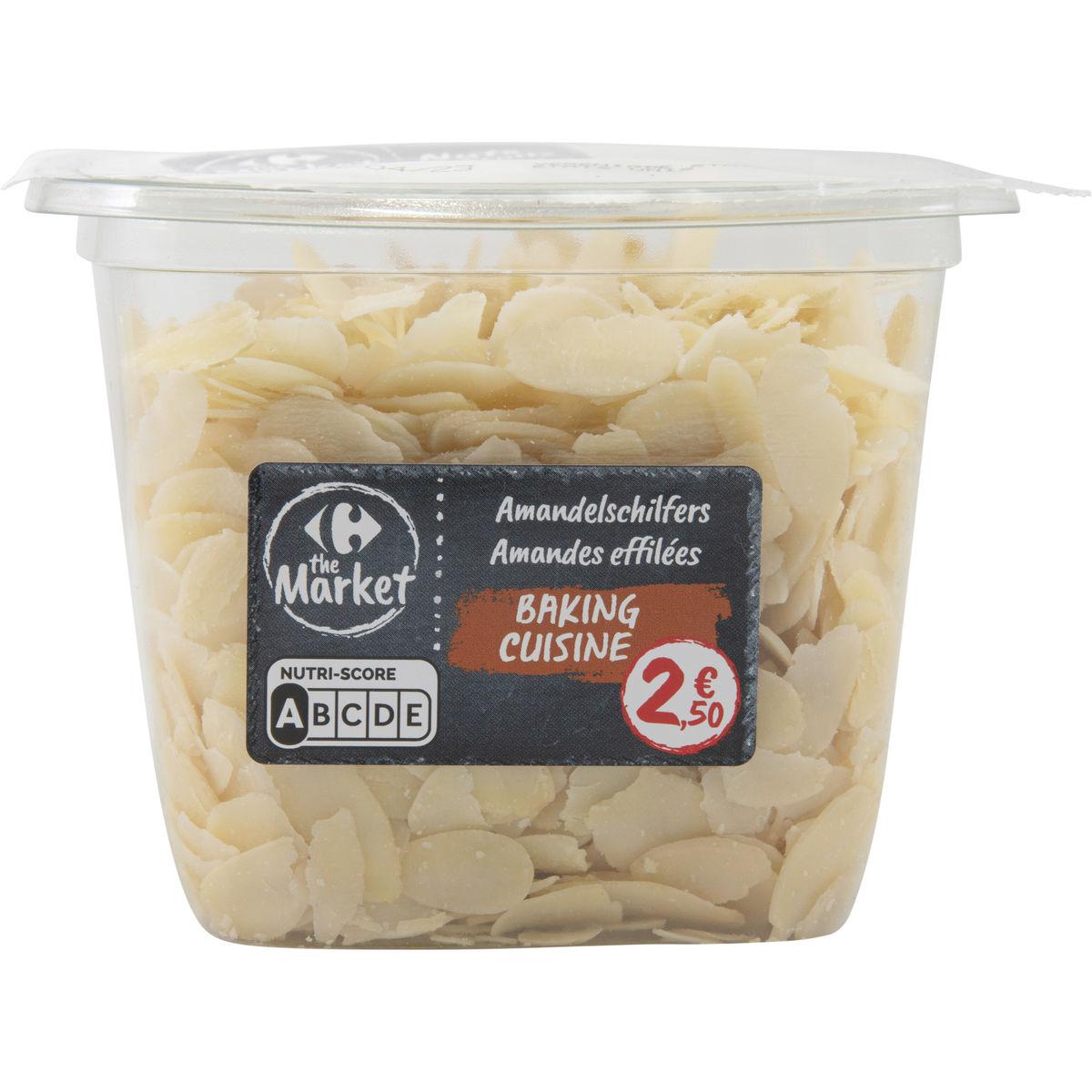 Carrefour Nuts & Fruits Cuisine Amandes Effilées 120 g