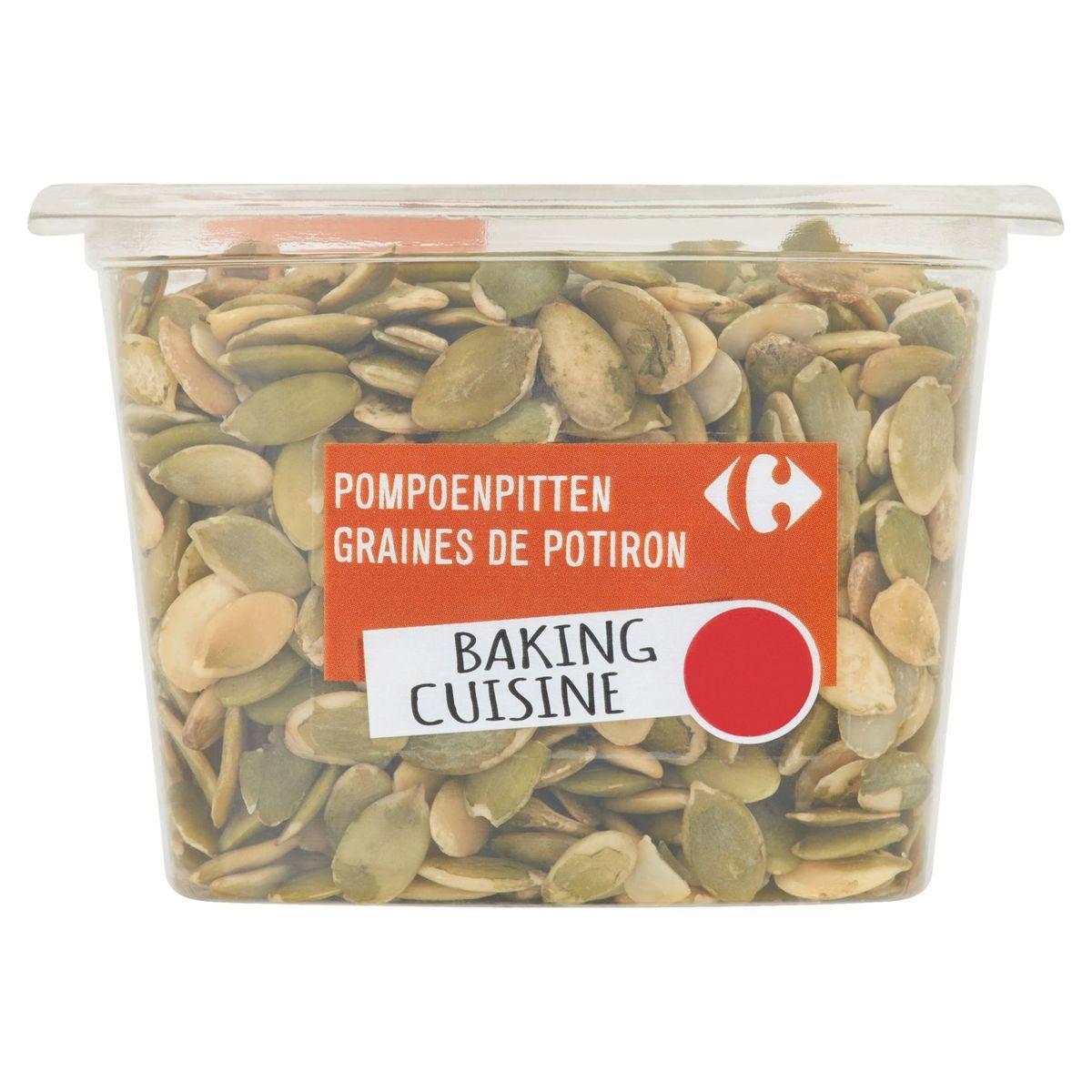 Carrefour Nuts & Fruits Baking Cuisine Graines de Potiron 200 g