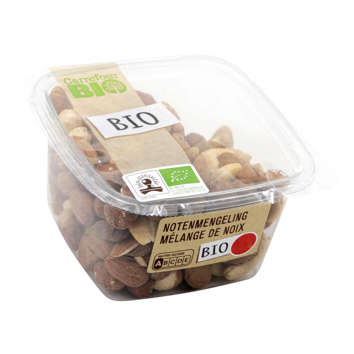 Carrefour Bio Nuts & Fruits Bio Mélange de Noix 160 g
