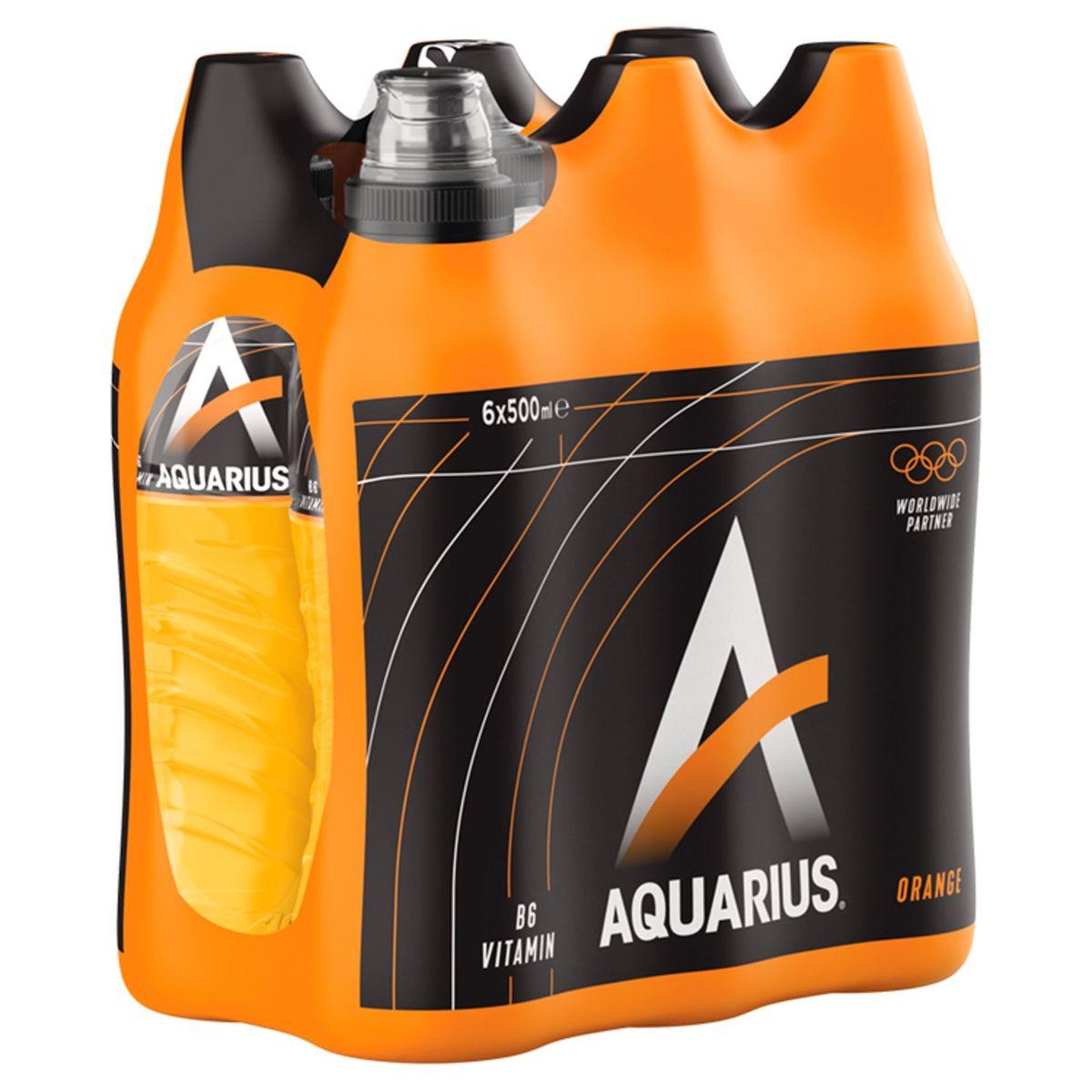 Aquarius Orange 6 x 500 ml