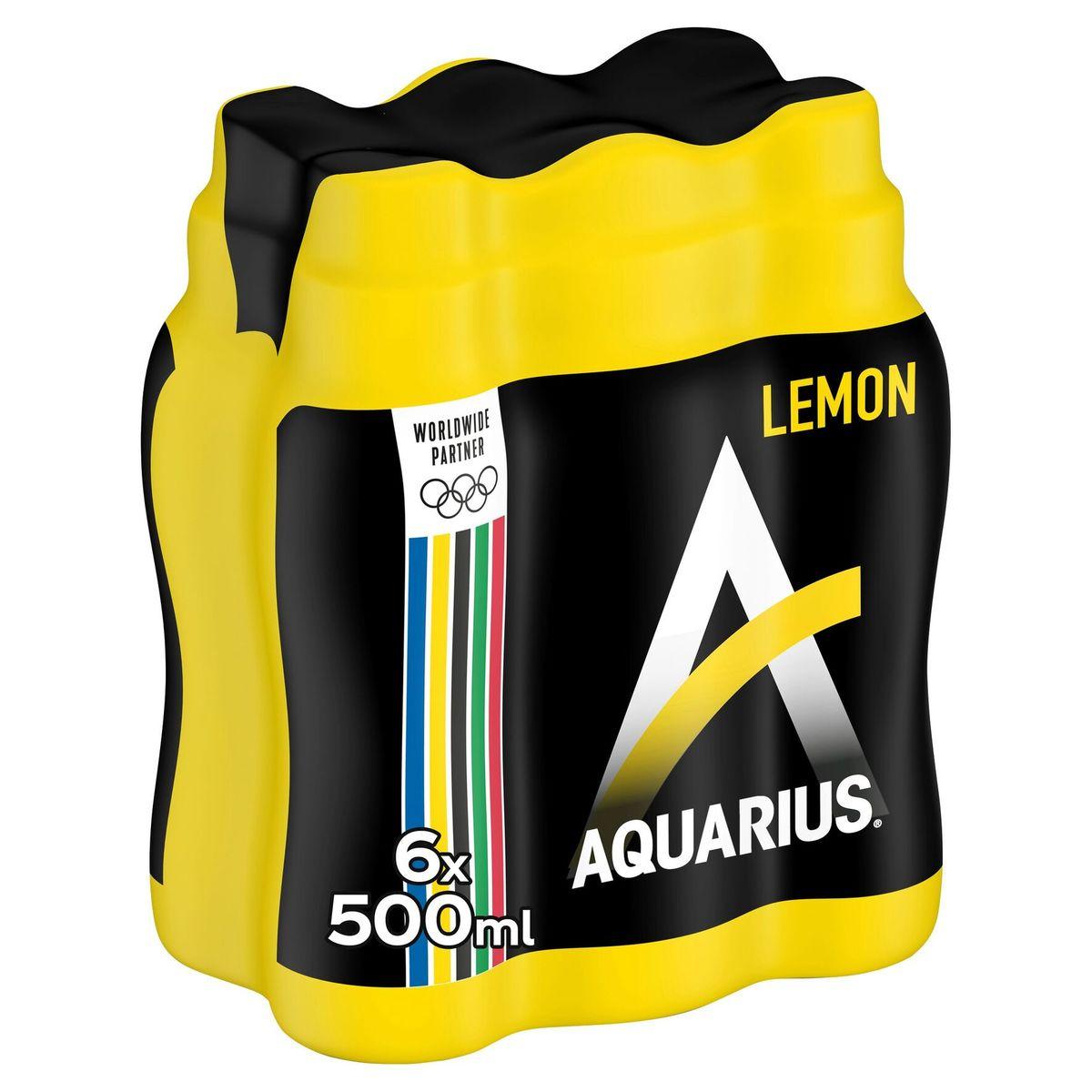 Aquarius Lemon 6 x 500 ml