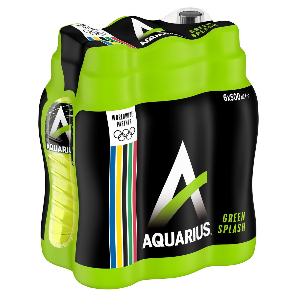 Aquarius Green Splash 6 x 500 ml