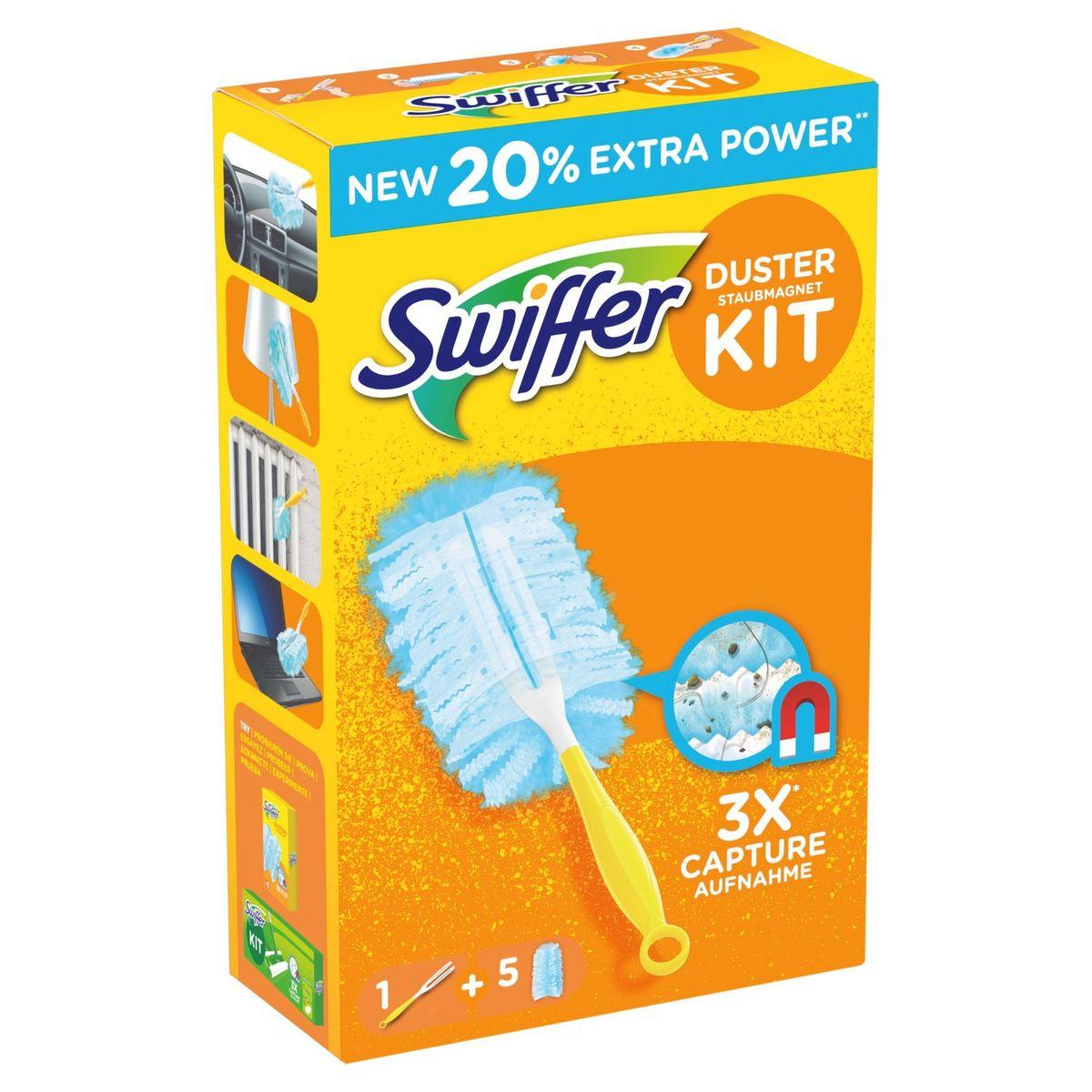 Swiffer Duster Trap & Lock-kit (1 Handvat + 5 Navullingen)