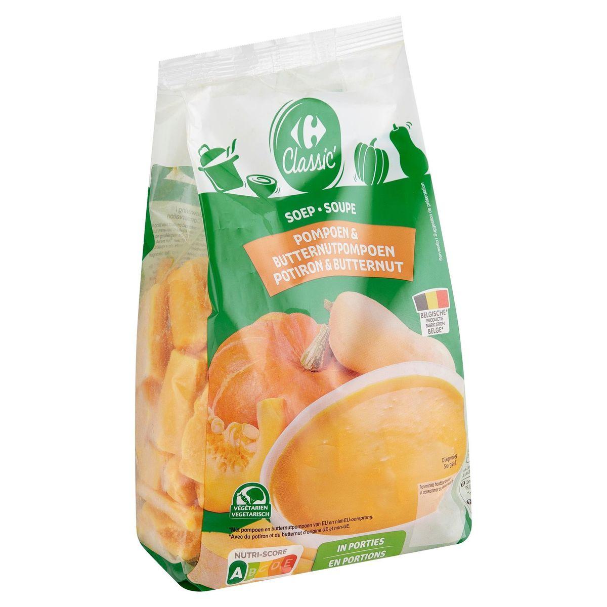 Carrefour Soep Pompoen & Butternutpompoen 600 g