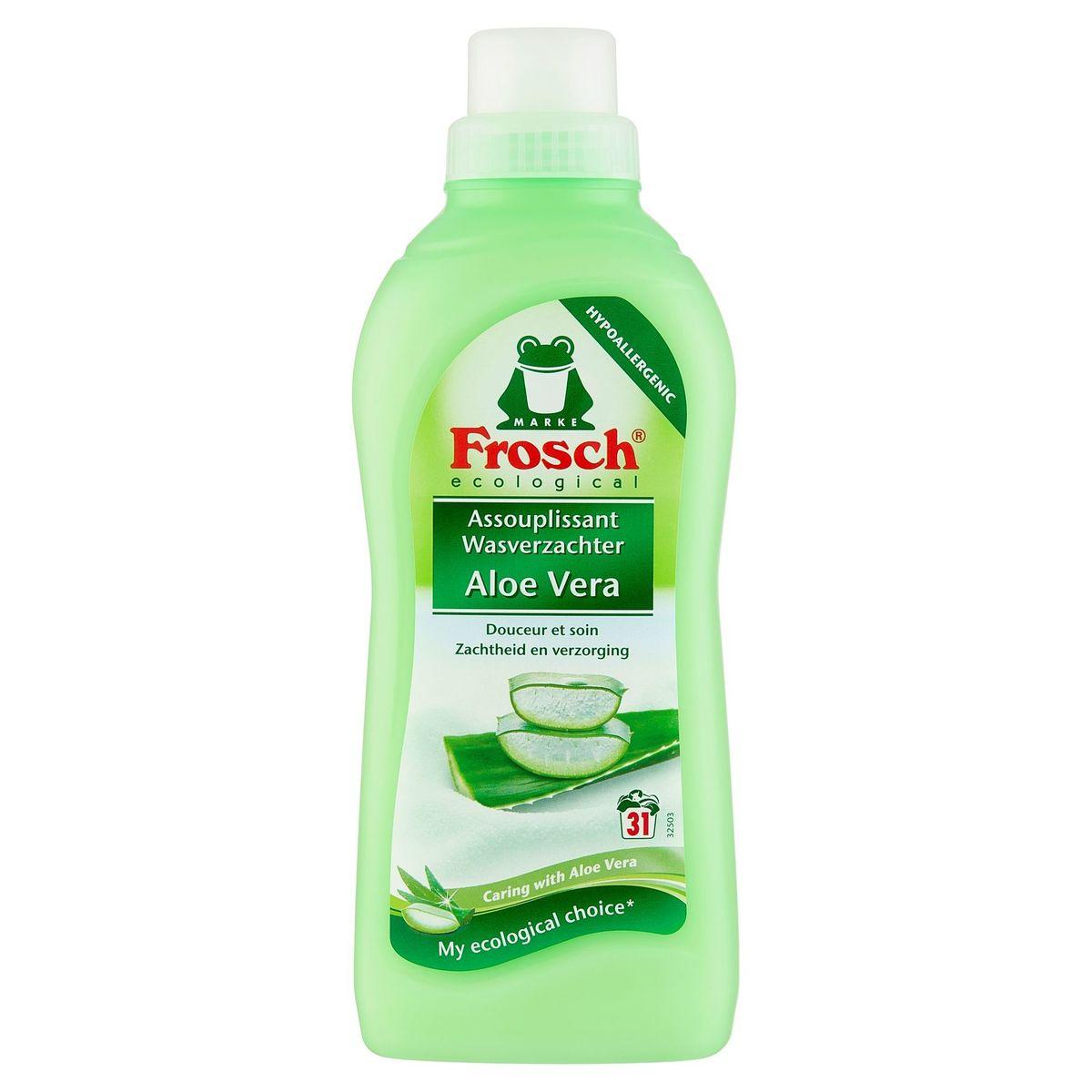 Frosch Ecological Wasverzachter Aloe Vera 31 Wasbeurten 750 ml