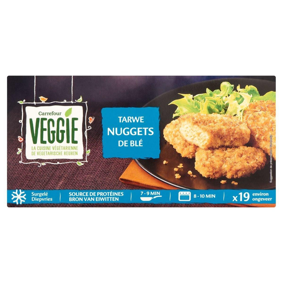 Carrefour Veggie Tarwe Nuggets 400 g