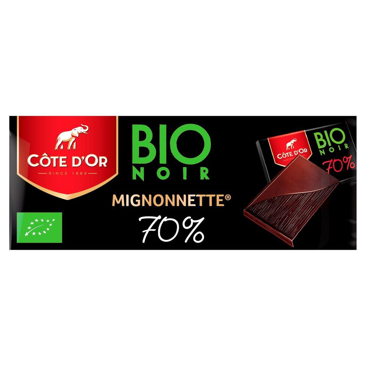Côte d'Or Bio Noir Mignonnette 70% 180 g