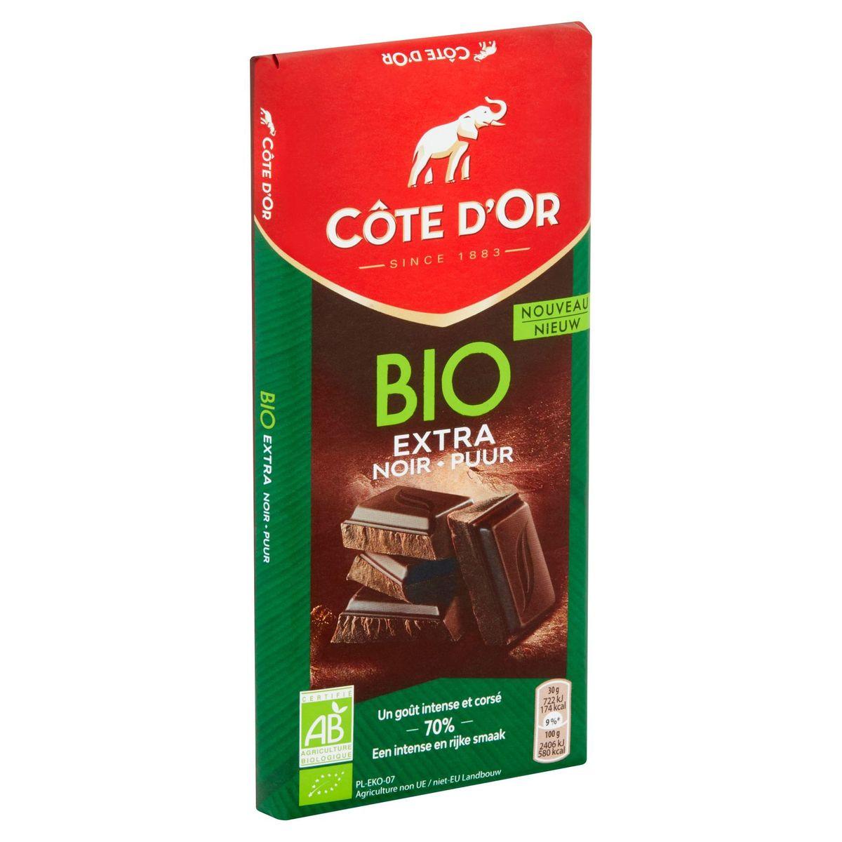 Côte d'Or Bio Extra Noir 70% 150 g