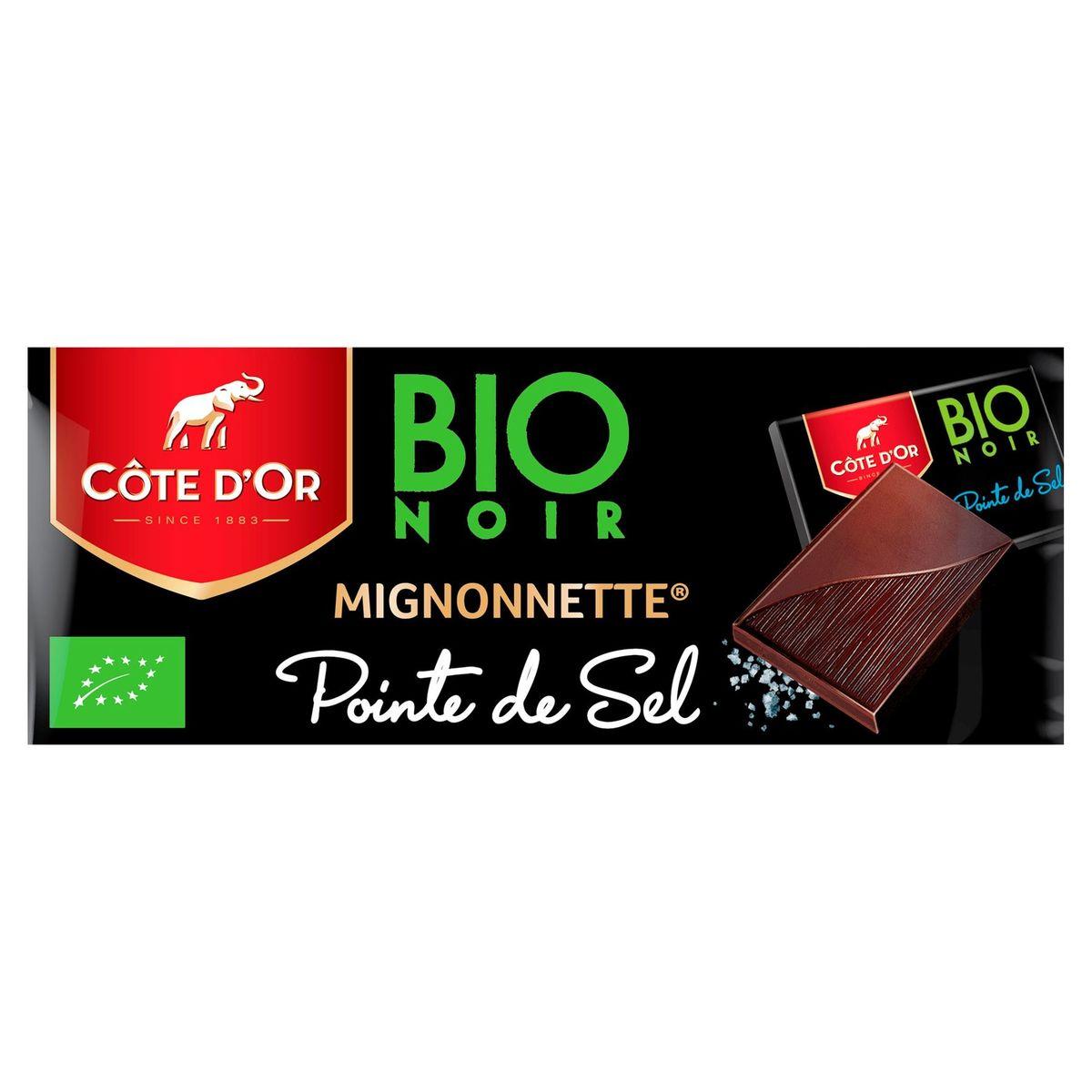 Côte d'Or Bio Noir Mignonnette Pointe de Sel 180 g