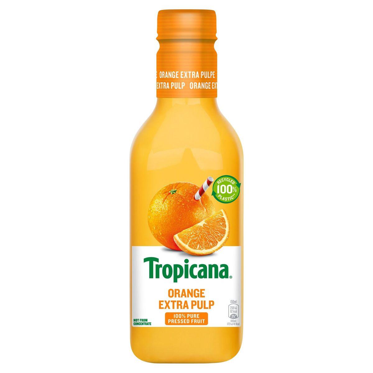Tropicana Sinaasappelsap Met Extra Pulp Vers Fruitsap 90 cl