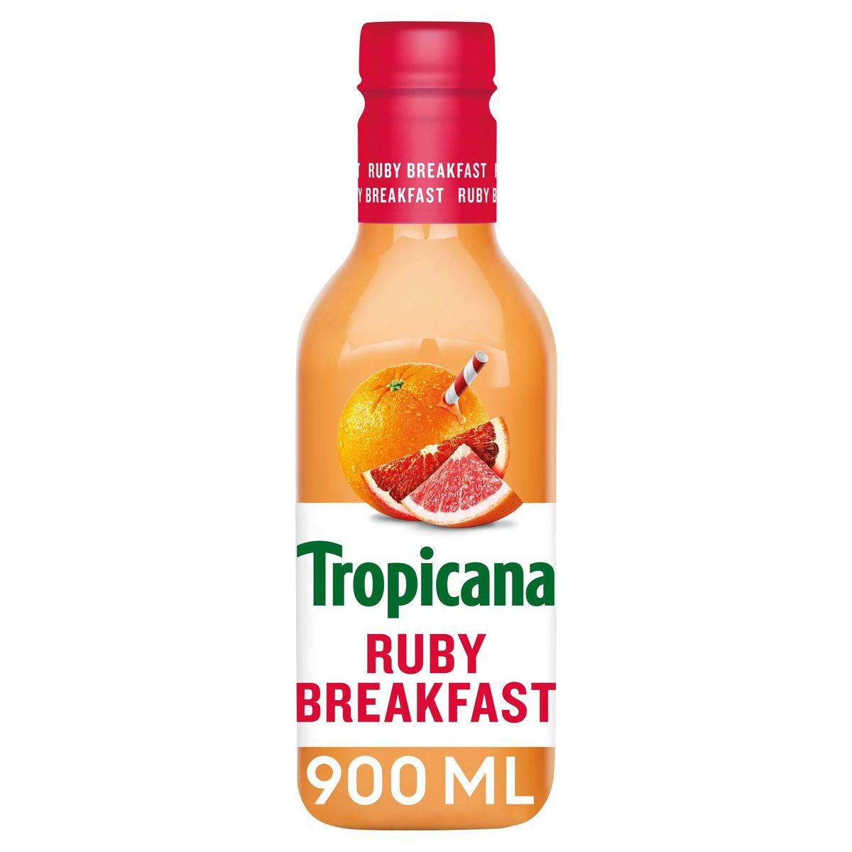 Tropicana Ruby Breakfast Vers Fruitsap 90 cl