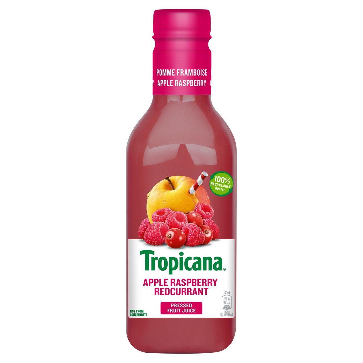 Tropicana Jus de Fruit Frais Apple Raspberry Redcurrant 90 cl