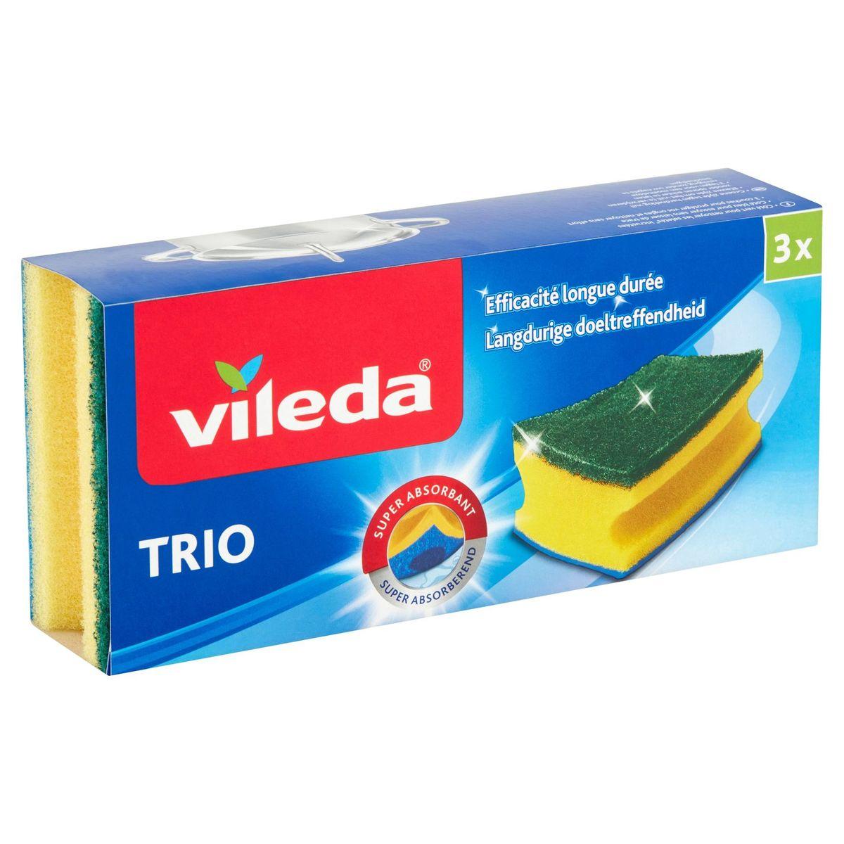 Vileda Trio 3 Stuks