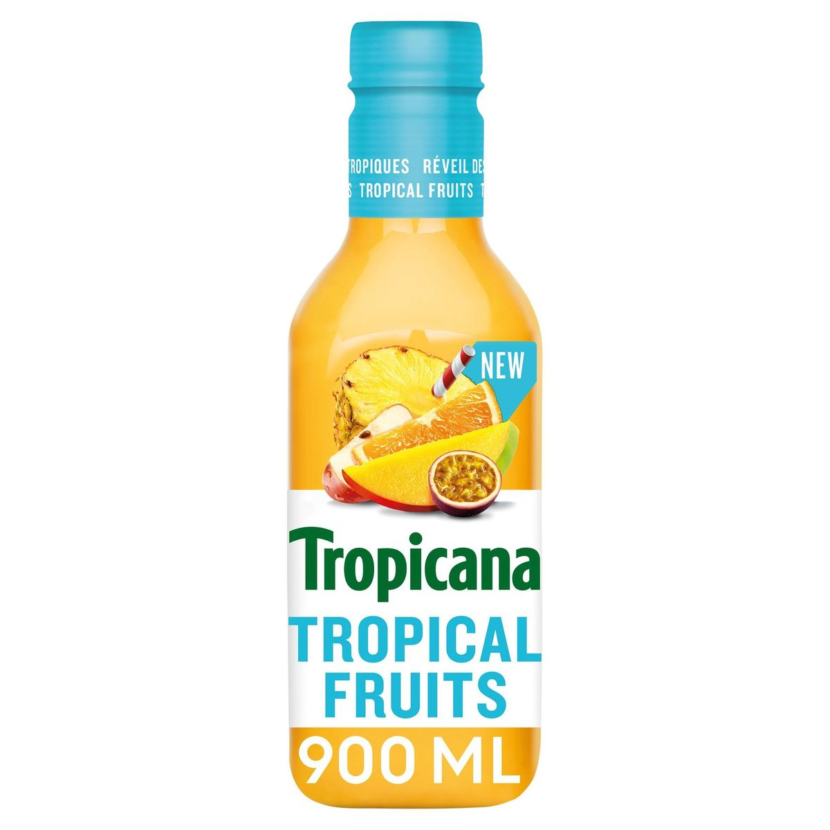 Tropicana Tropical Fruits Vers Fruitsap 90 cl
