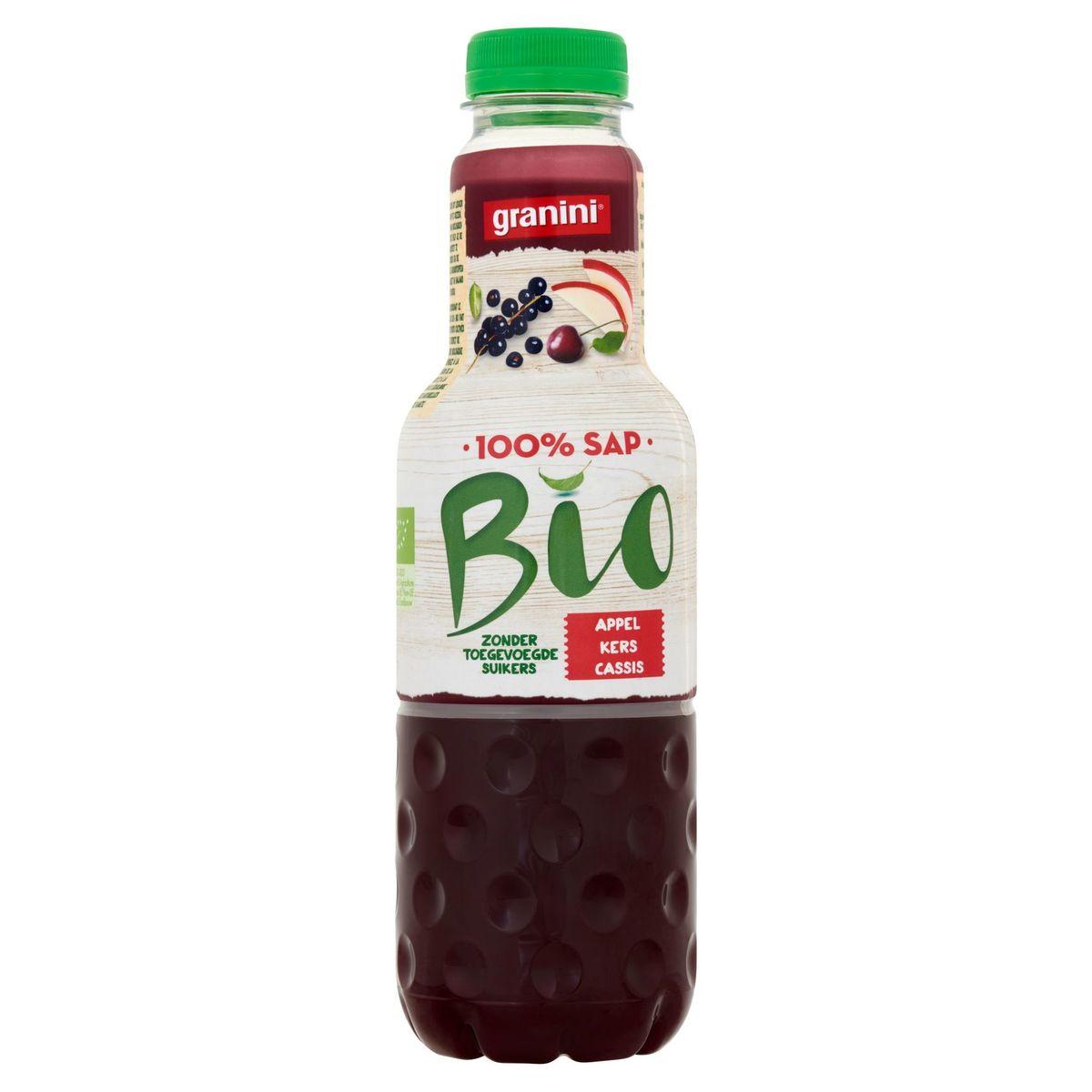 granini Bio Appel Kers Cassis  0.75 L