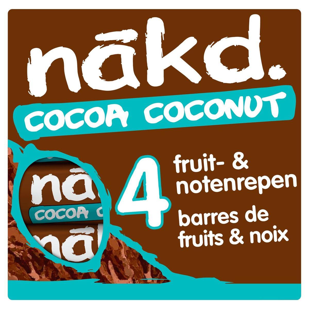 Nākd Cocoa Coconut 4 x 35 g