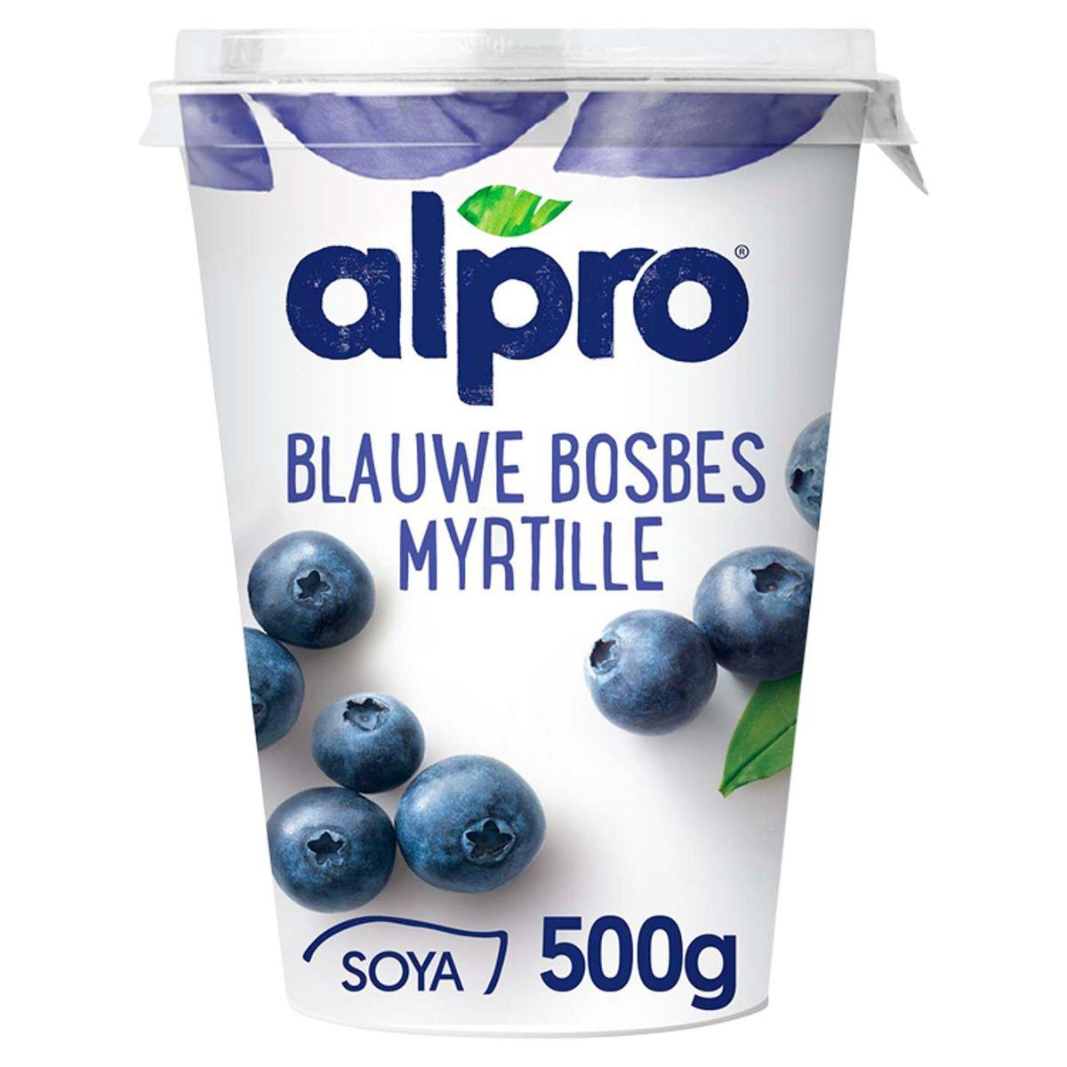 Alpro Myrtille Alternative Végétale au Yaourt  500 g