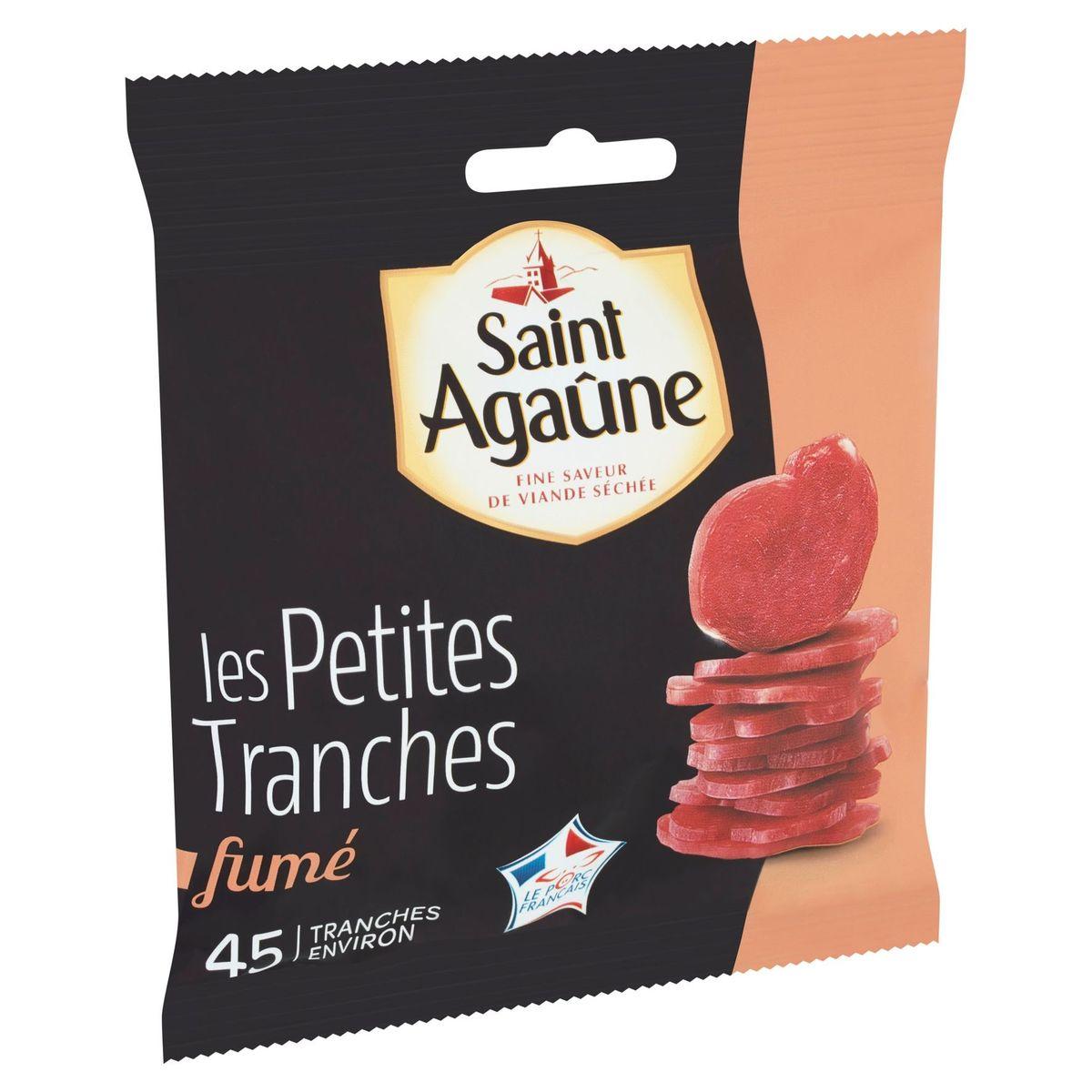Saint Agaûne les Petites Tranches Fumé 70 g