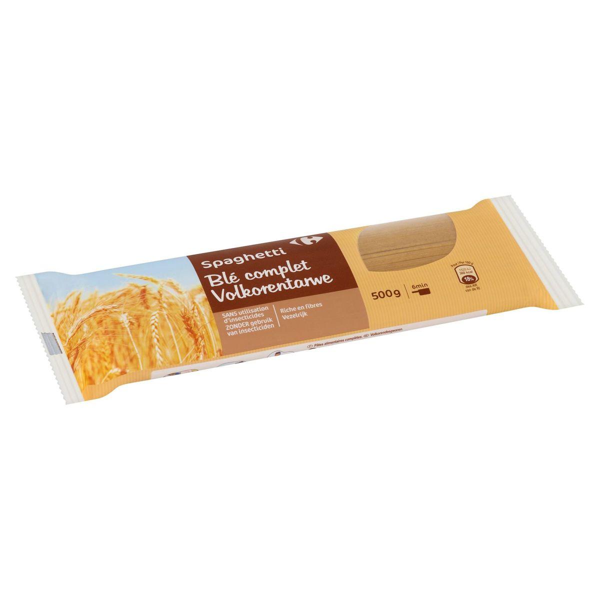 Carrefour Spaghetti Blé Complet 500 g