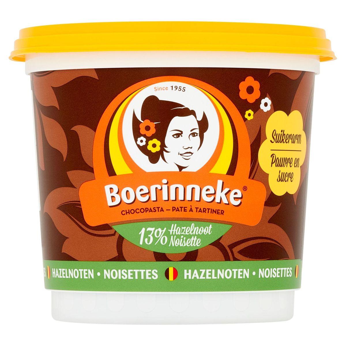 Boerinneke Pâte à Tartiner Noisettes 400 g
