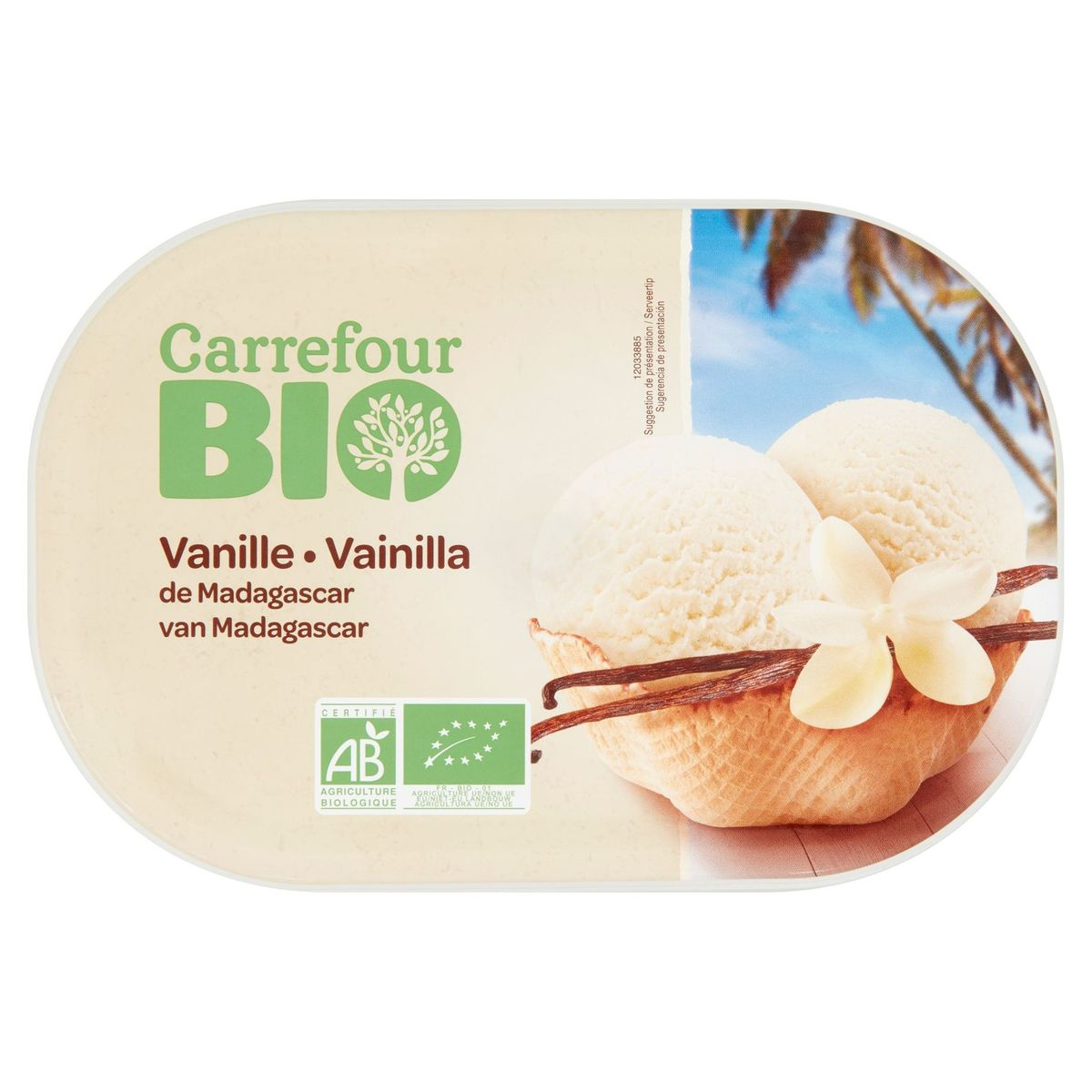 Carrefour Bio Vanille van Madagascar 471 g