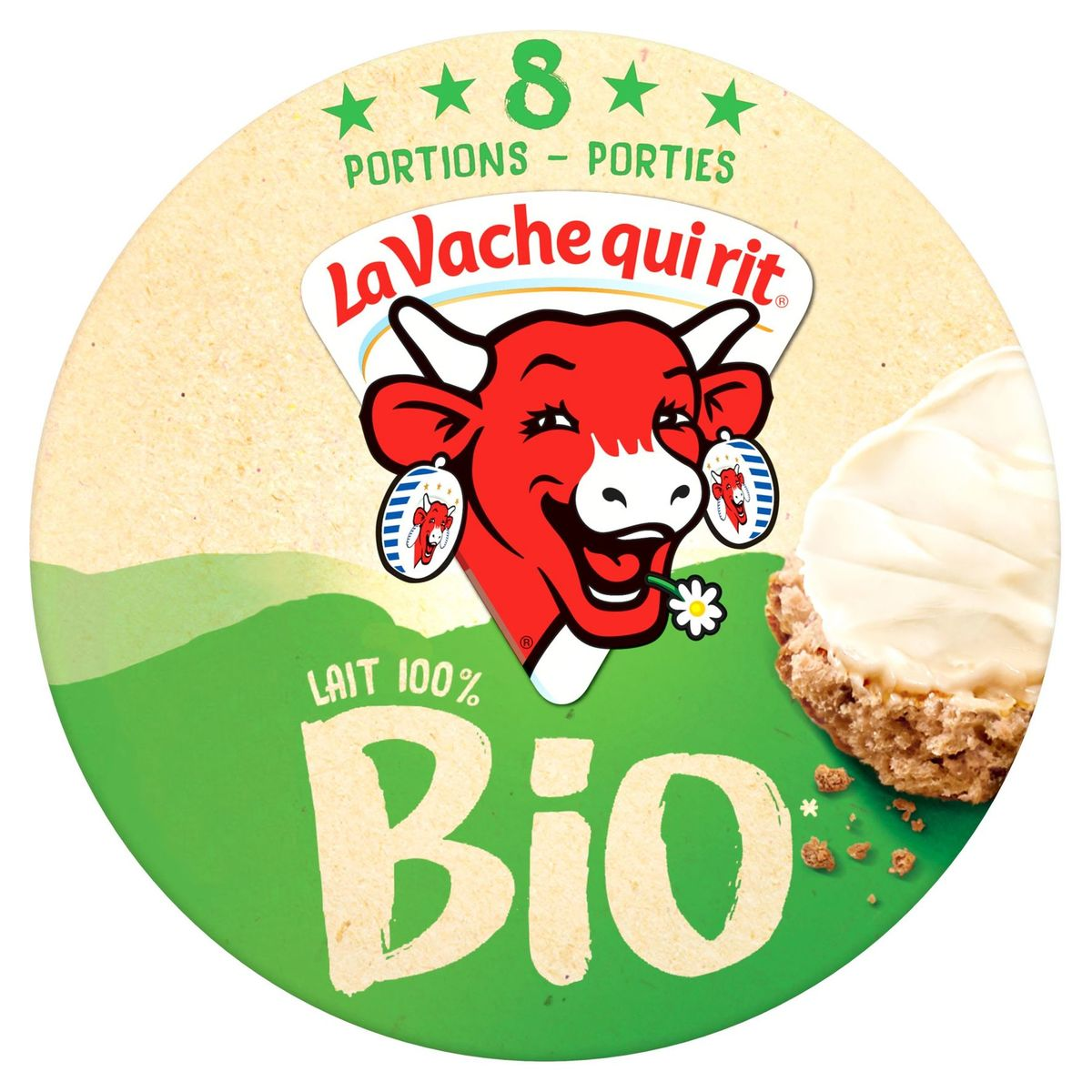 La Vache Qui Rit Fromage à tartiner Bio 8 Portions 128 g