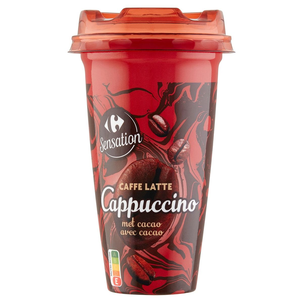 Carrefour Caffe Latte Cappuccino avec Cacao 250 ml
