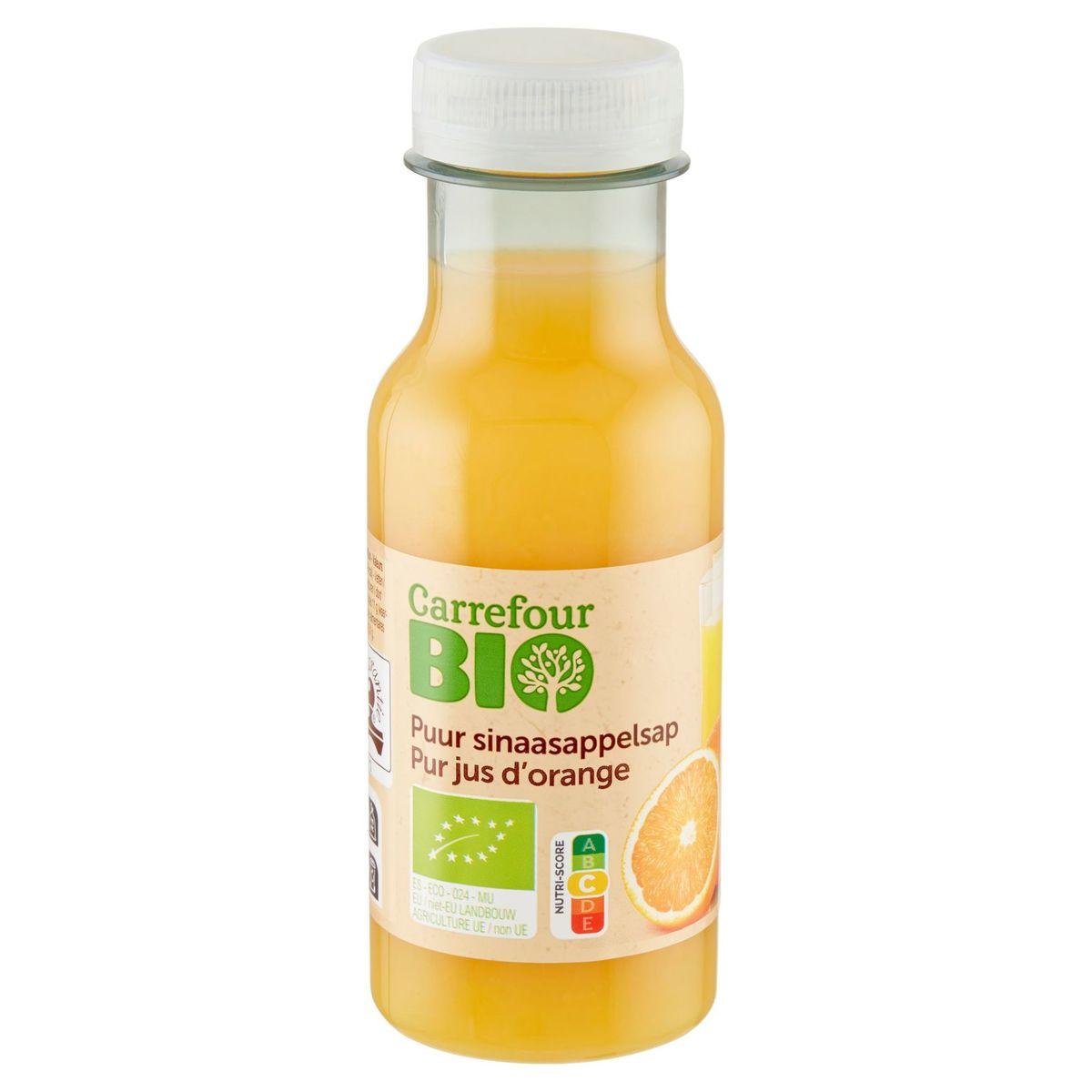 Carrefour Bio Pur Jus d'Orange 250 ml