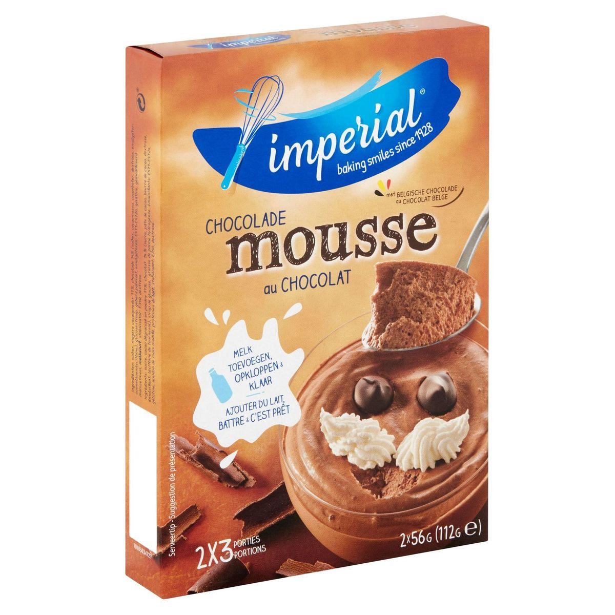 Imperial Mousse au Chocolat 2 x 56 g