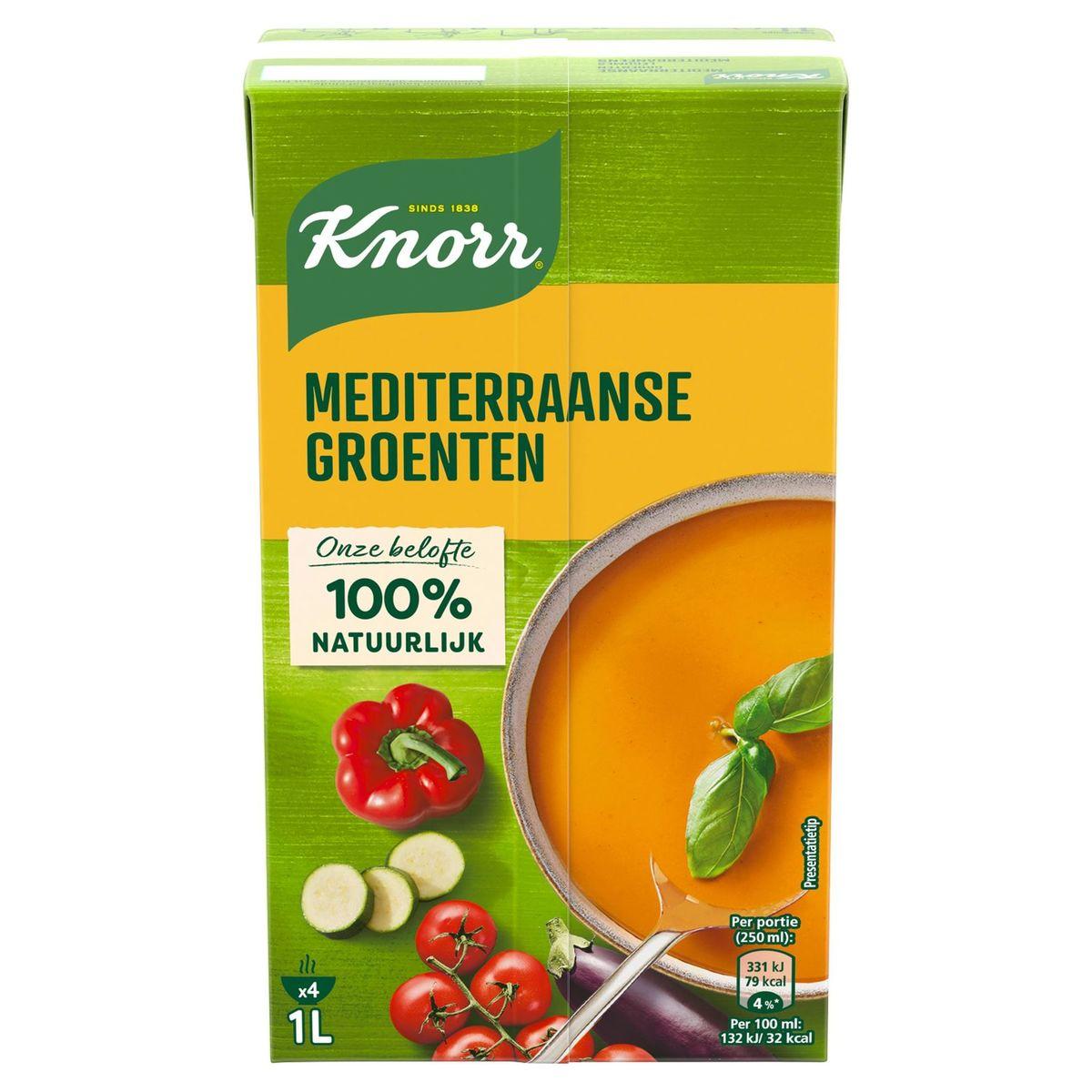 Knorr Classics Tetra Soupe Légumes Méditerranéens 1L