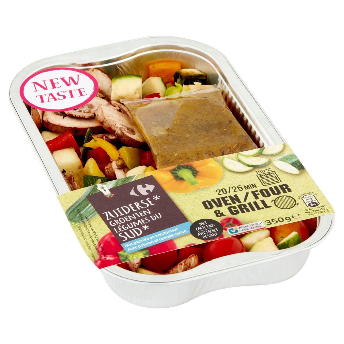 Carrefour Légumes du Sud avec Poivron et Tomate Cerise 350 g