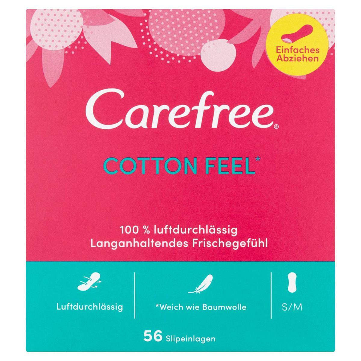 Carefree Cotton Feel 56 Stuks