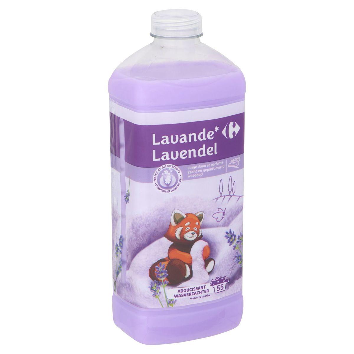 Carrefour Lavande Adoucissant 55 Lavages 1.5 L