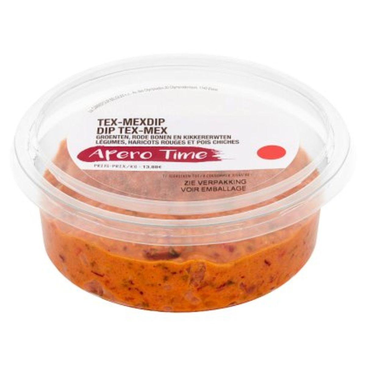 Carrefour Dip Tex-Mex Légumes, Haricots Rouges et Pois Chiches 180 g