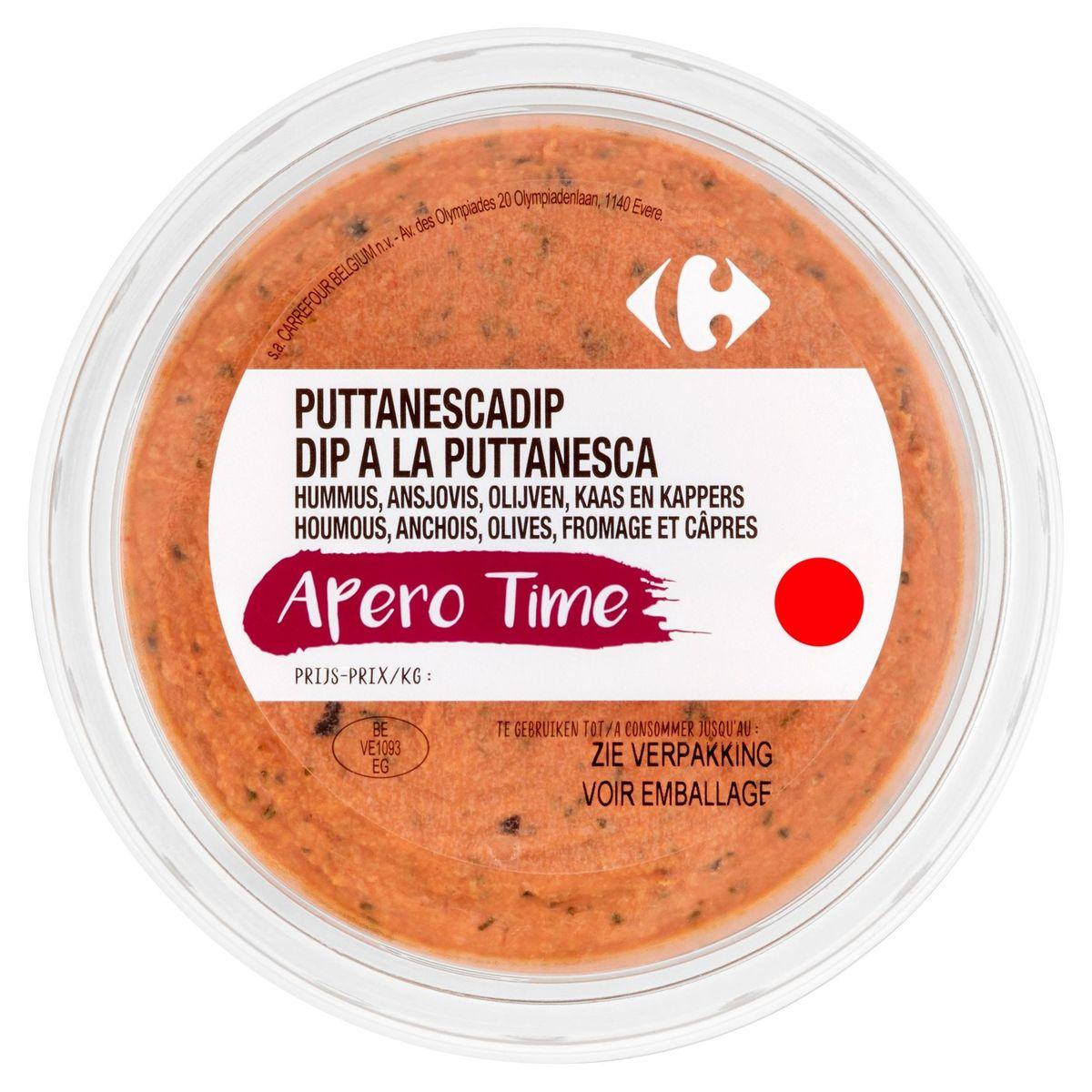 Carrefour Dip Houmous, Anchois, Olives, Fromage & Câpres 180 g
