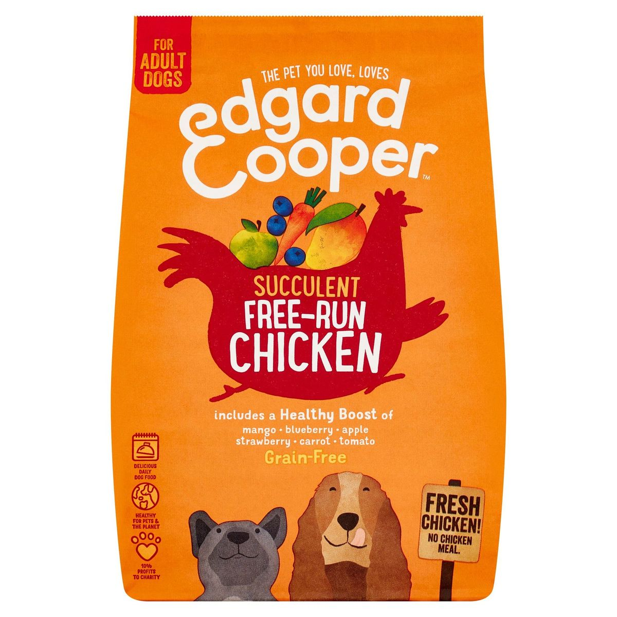 Edgard & Cooper Succulent Free-Run Chicken Grain-Free 0.7 kg