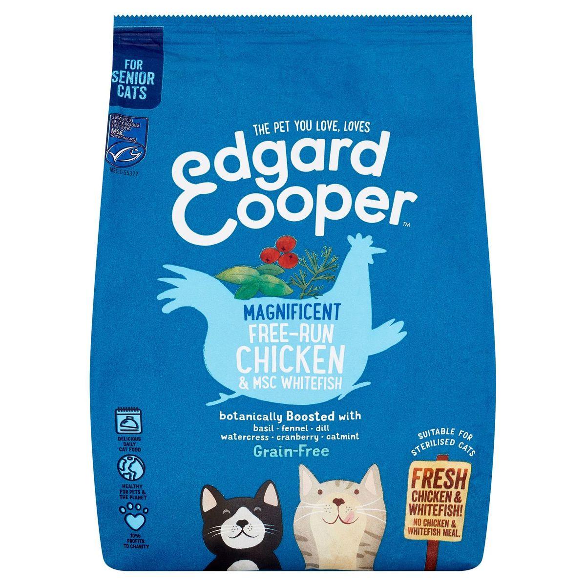 Edgard & Cooper Magnificent Free-Run Chicken & MSC Whitefish 700 g