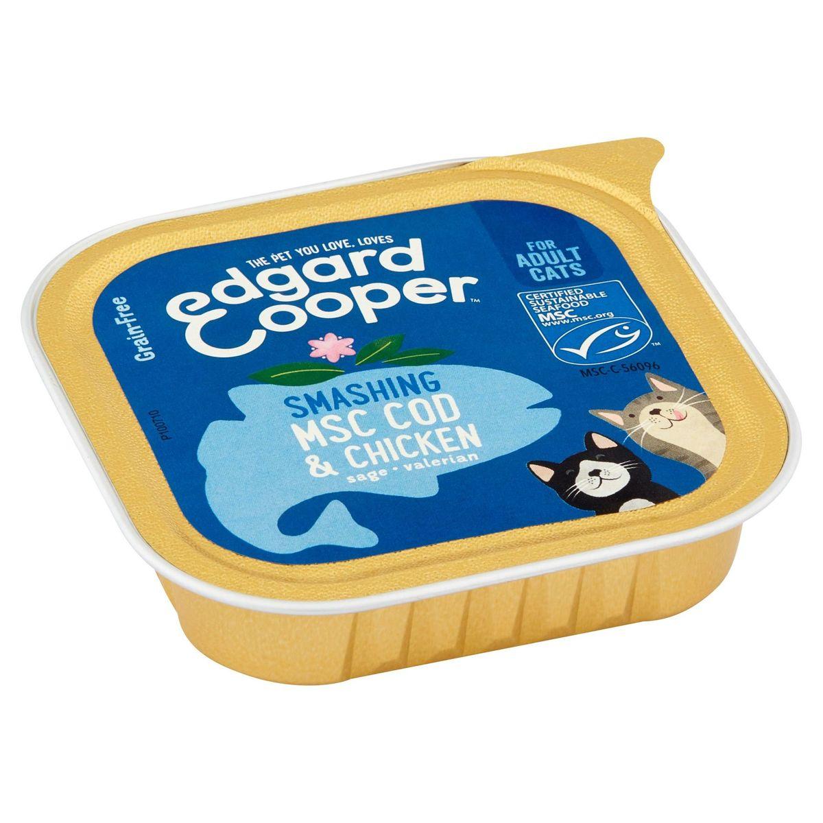 Edgard & Cooper Smashing MSC Cod & Chicken Sage Valerian 85 g