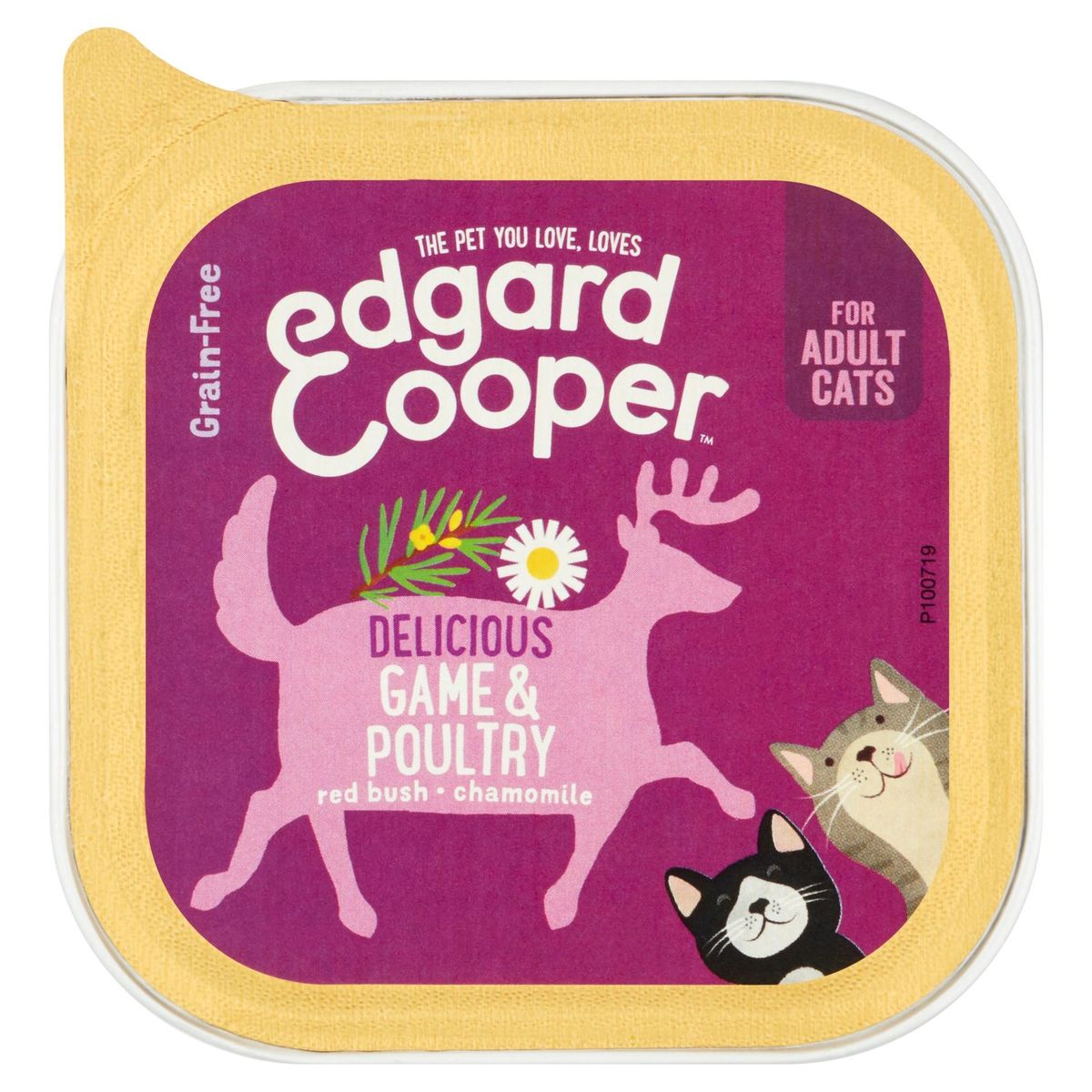 Edgard & Cooper Delicious Game & Poultry Red Bush Chamomile 85 g