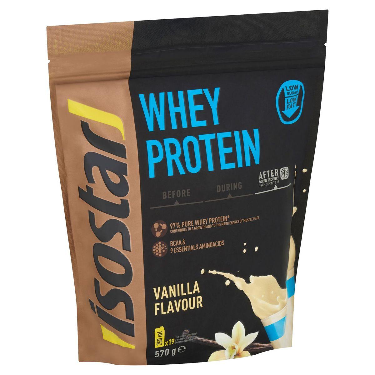 Isostar Whey Protein Smaak Vanille 570 g