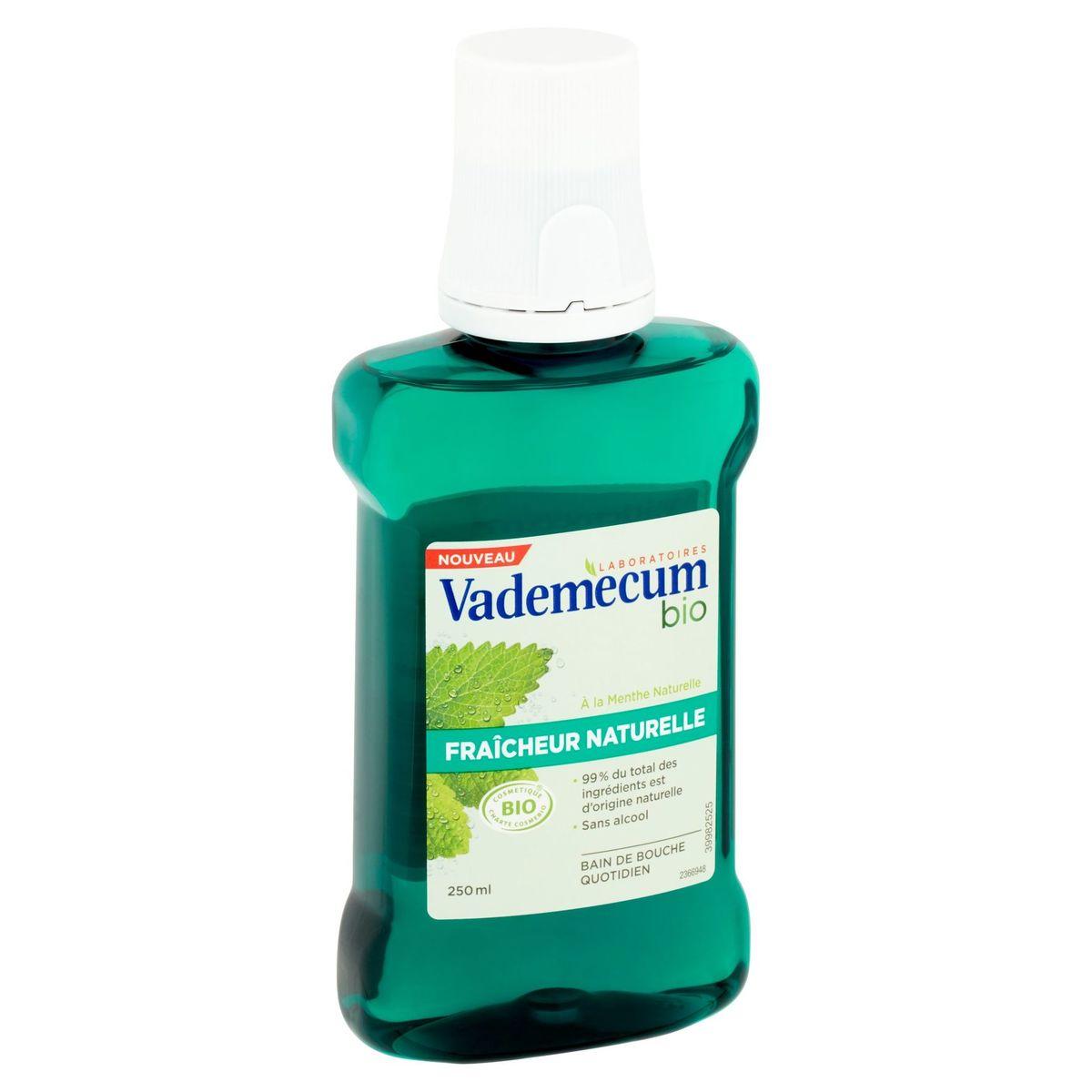 Vademecum Bio Fraîcheur Naturelle Bain de Bouche 250 ml
