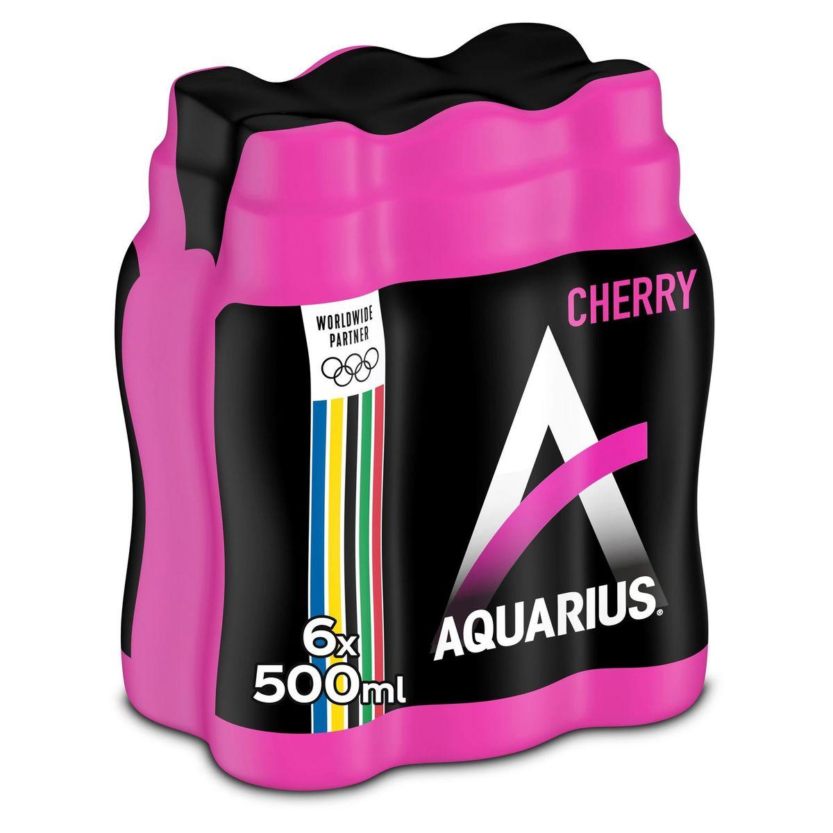 Aquarius Isotonic Cherry 6 x 500 ml